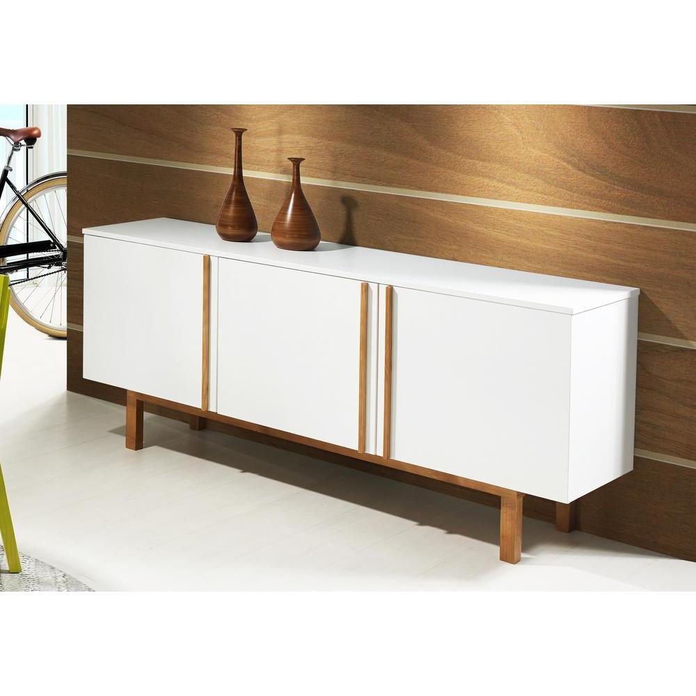 Artefama Furniture Vitra White Buffet 5932 – The Home Depot Throughout Light White Oak Two Tone Modern Buffets (View 1 of 20)