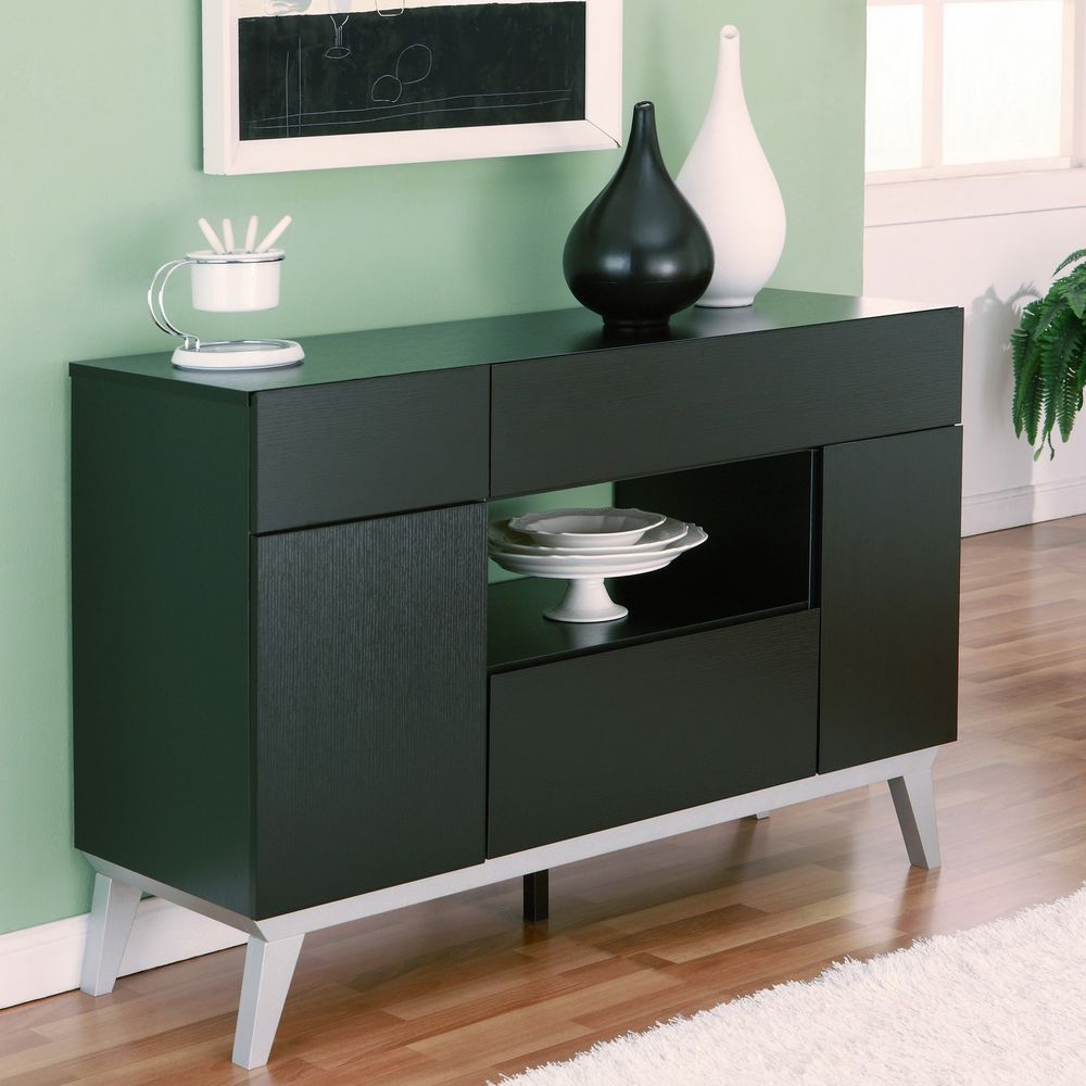 Astonishing Modern Buffet Table : The Holland – Modern Regarding Contemporary Black Dining Buffets (View 11 of 20)