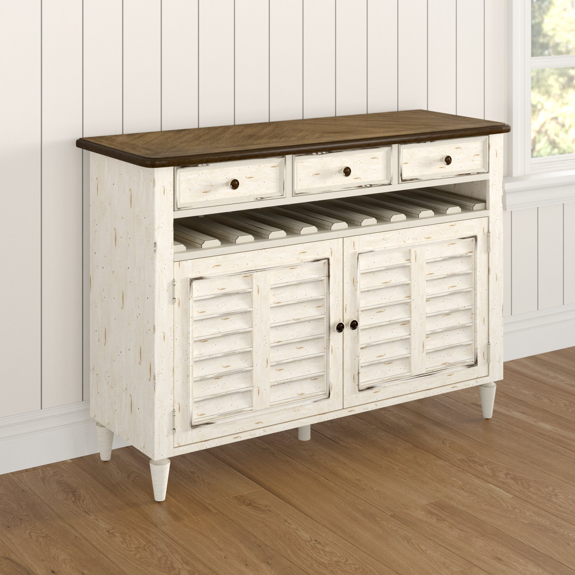 Baleine 3 Drawer Sideboard With 3 Drawer Storage Buffets (View 2 of 20)
