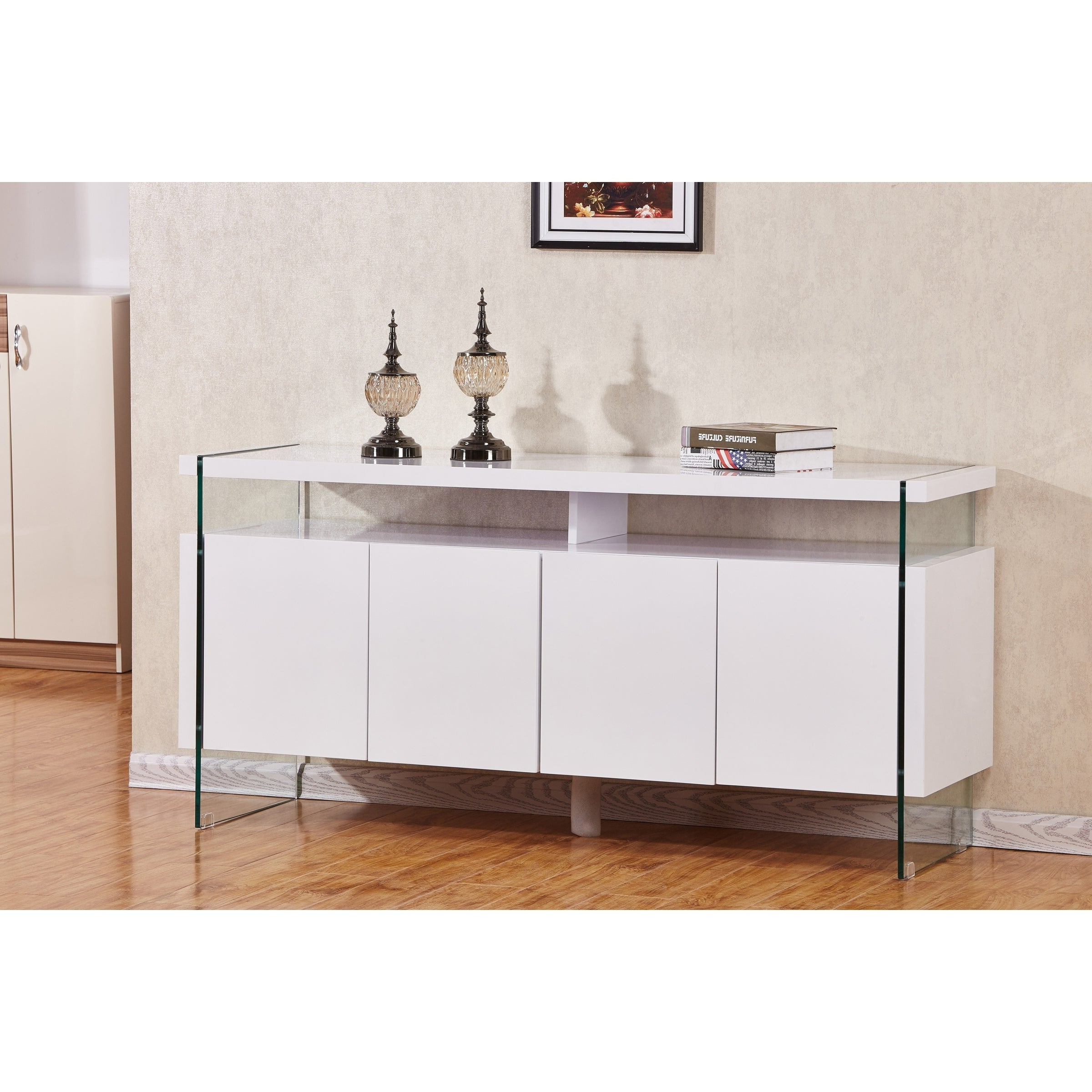 Featured Photo of 4 Door Lacquer Buffets