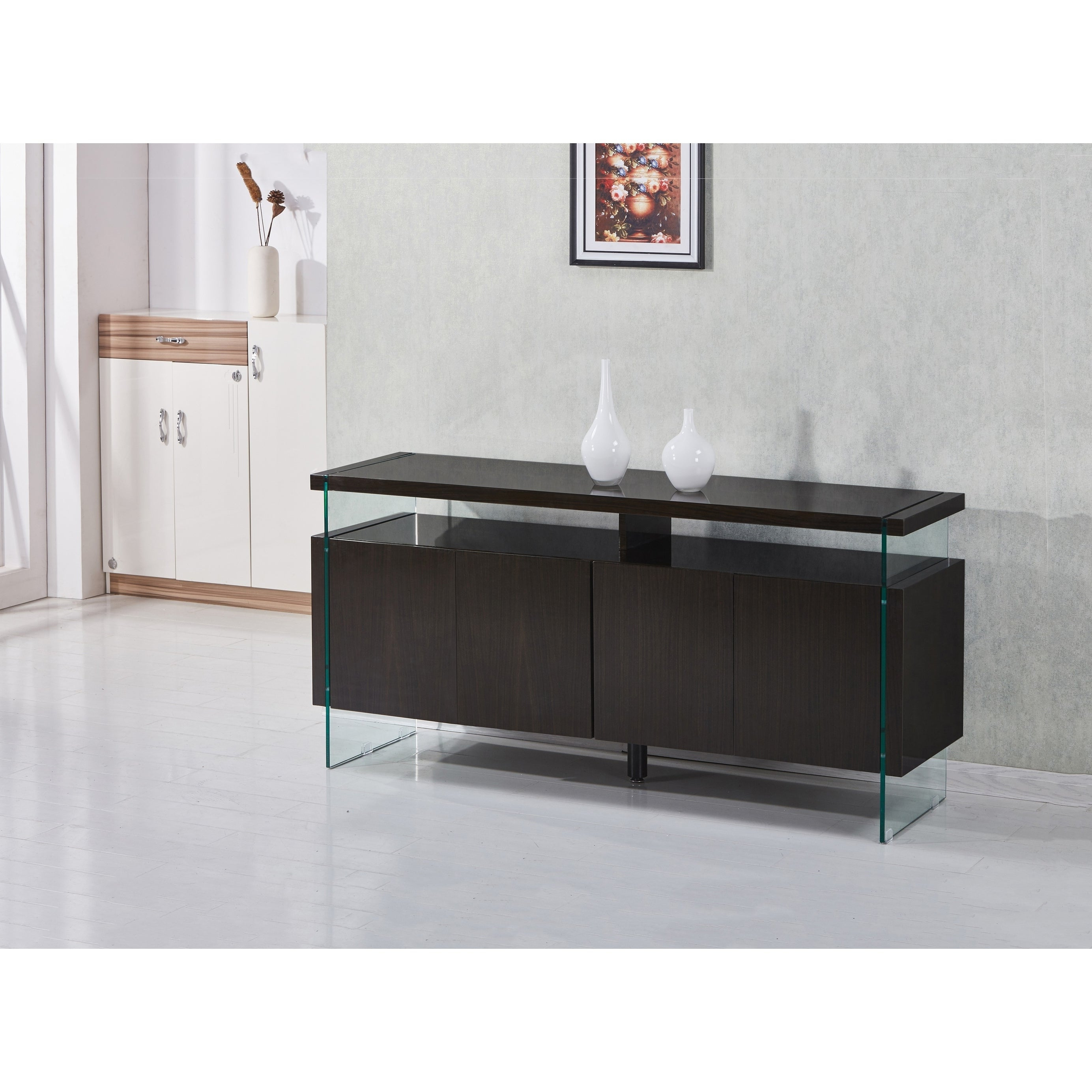 Best Quality Furniture 4 Door Lacquer Buffet Server With 4 Door Lacquer Buffets (View 7 of 20)