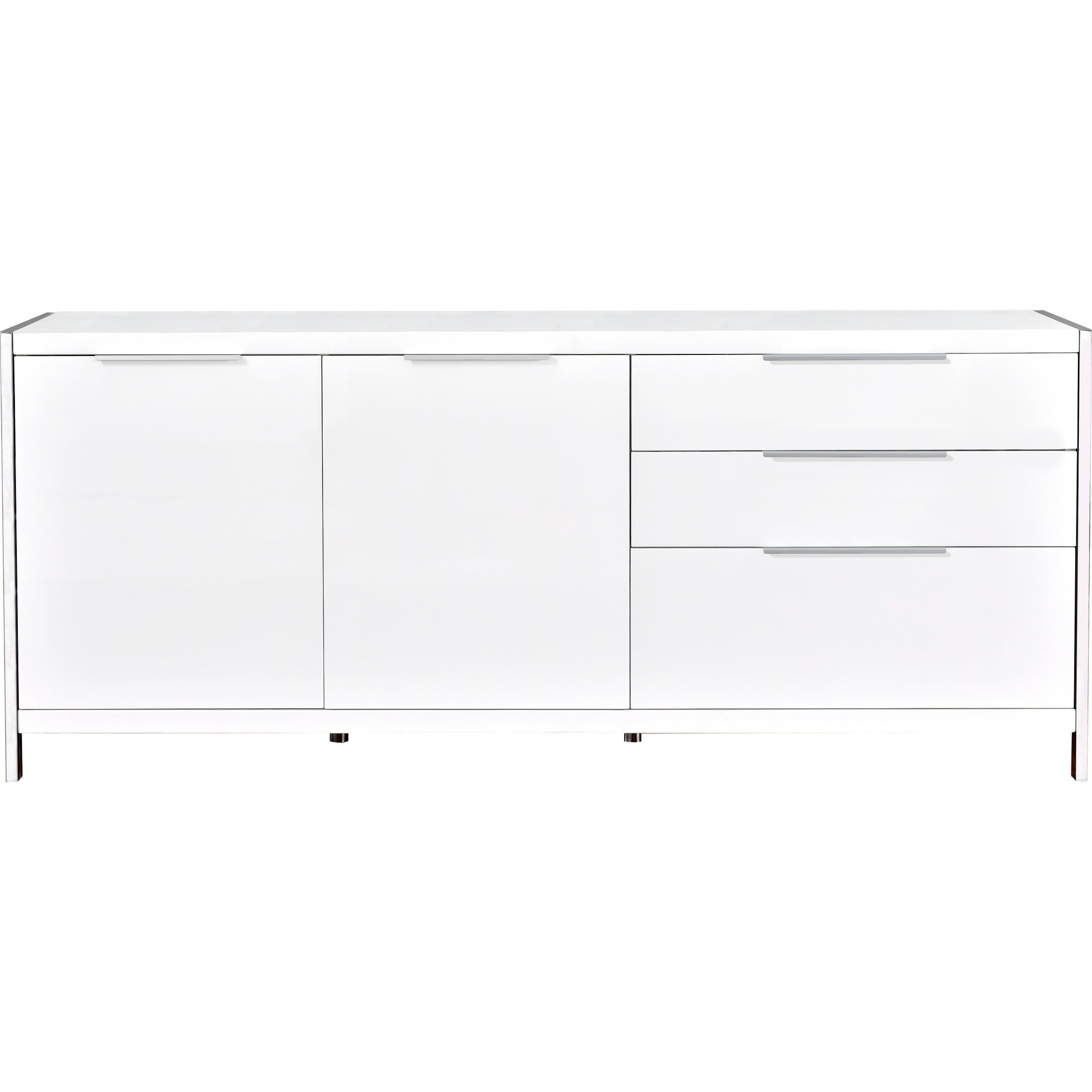 Best Quality Furniture Modern Lacquer 2 Door, 3 Drawer Cabinet With Modern Lacquer 2 Door 3 Drawer Buffets (View 3 of 20)