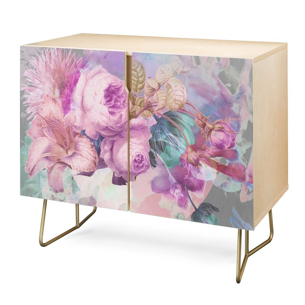 Biljana Kroll Marie Antoinette Credenza | Me/things I Love With Regard To Purple Floral Credenzas (View 15 of 20)