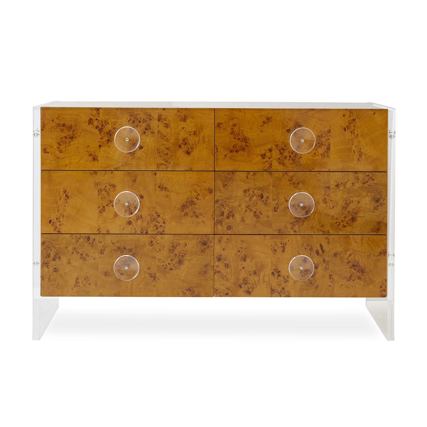 Bond Six Drawer Credenza Throughout Yellow Flora Credenzas (View 2 of 20)