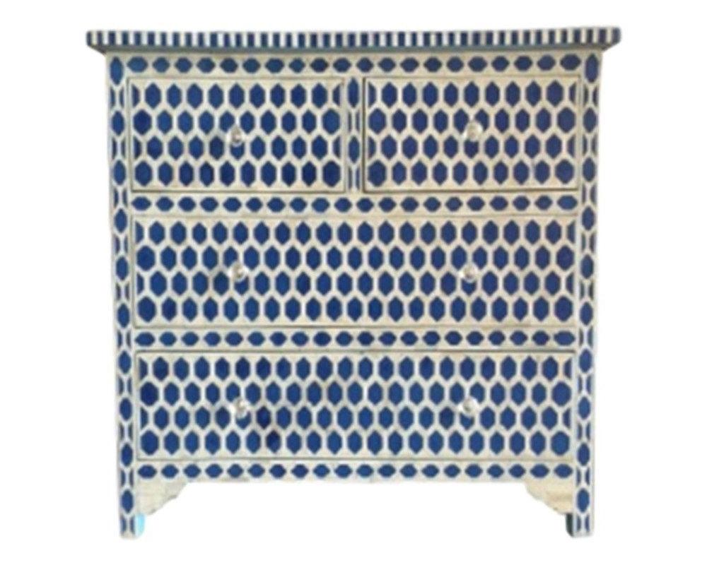 Bone Inlay Furniture – Modern Geometric Hexagon Dresser Throughout Exagonal Geometry Credenzas (View 6 of 20)