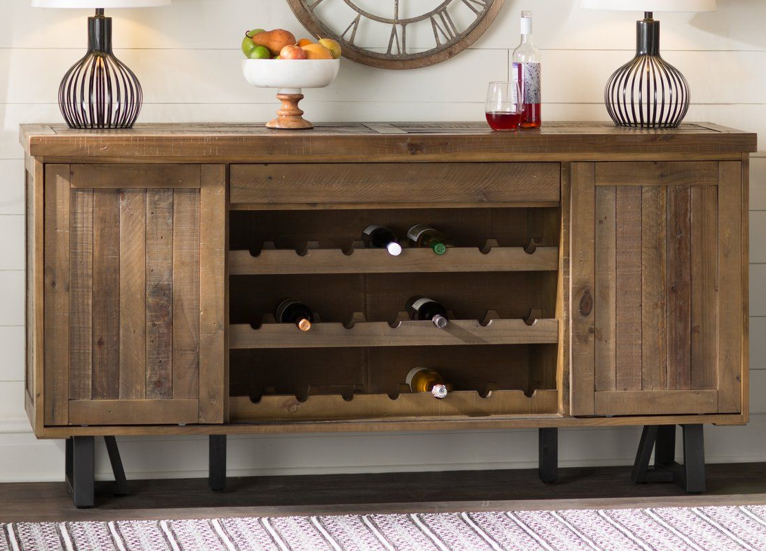 Featured Photo of Buffets With Bottle And Glass Storage