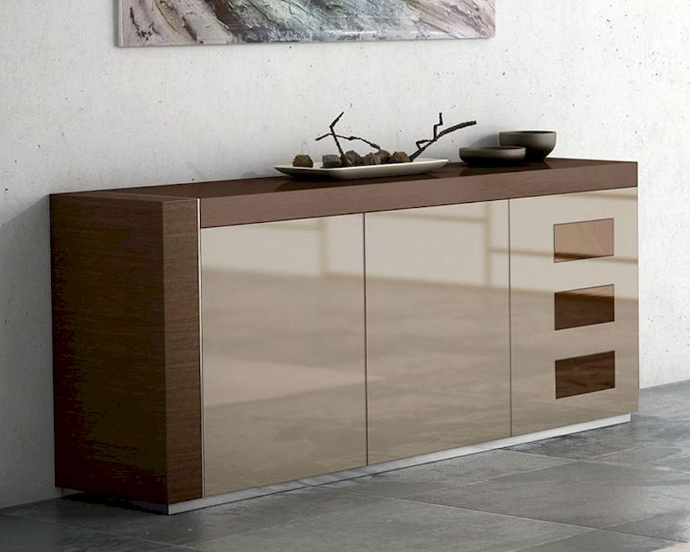 Buffet Inez In Cappuccino Finish European Design Made In In Cappuccino Finished Buffets (View 2 of 20)