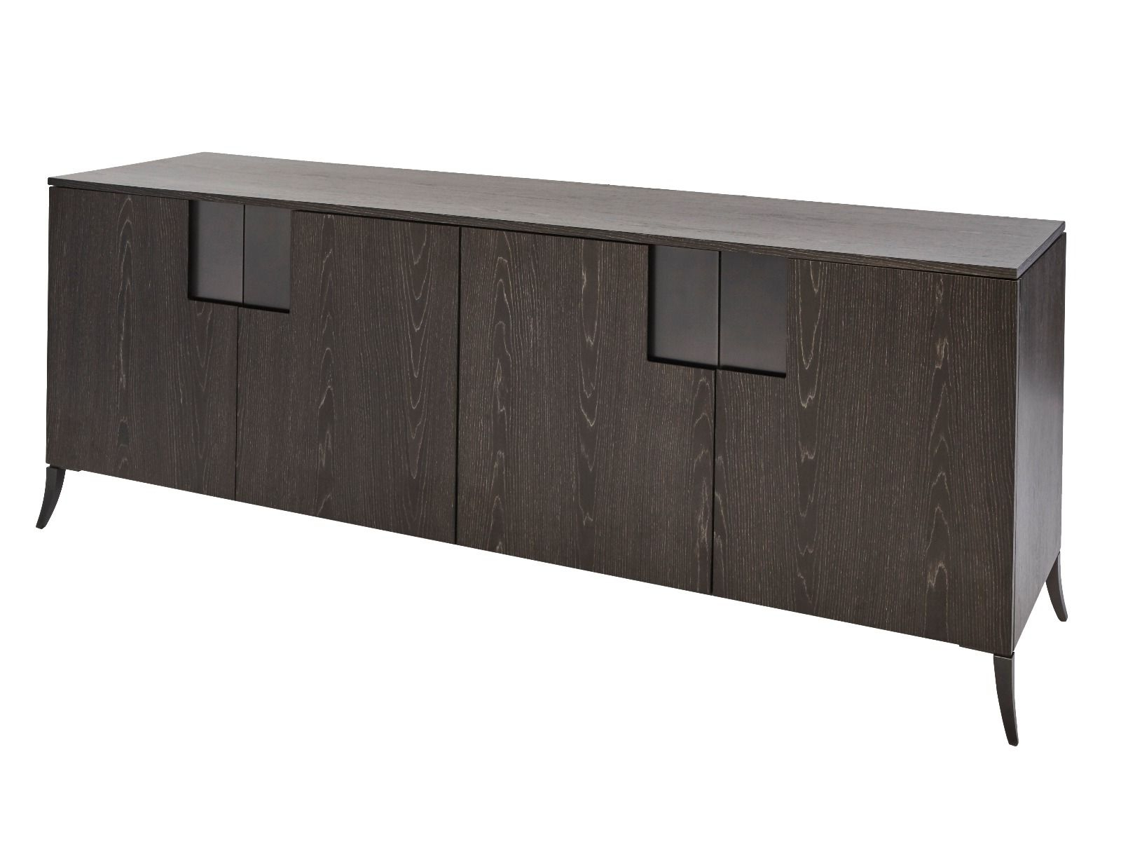 Buffet Sideboard Double Length Inside 2 Shelf Buffets With Curved Legs (View 4 of 20)