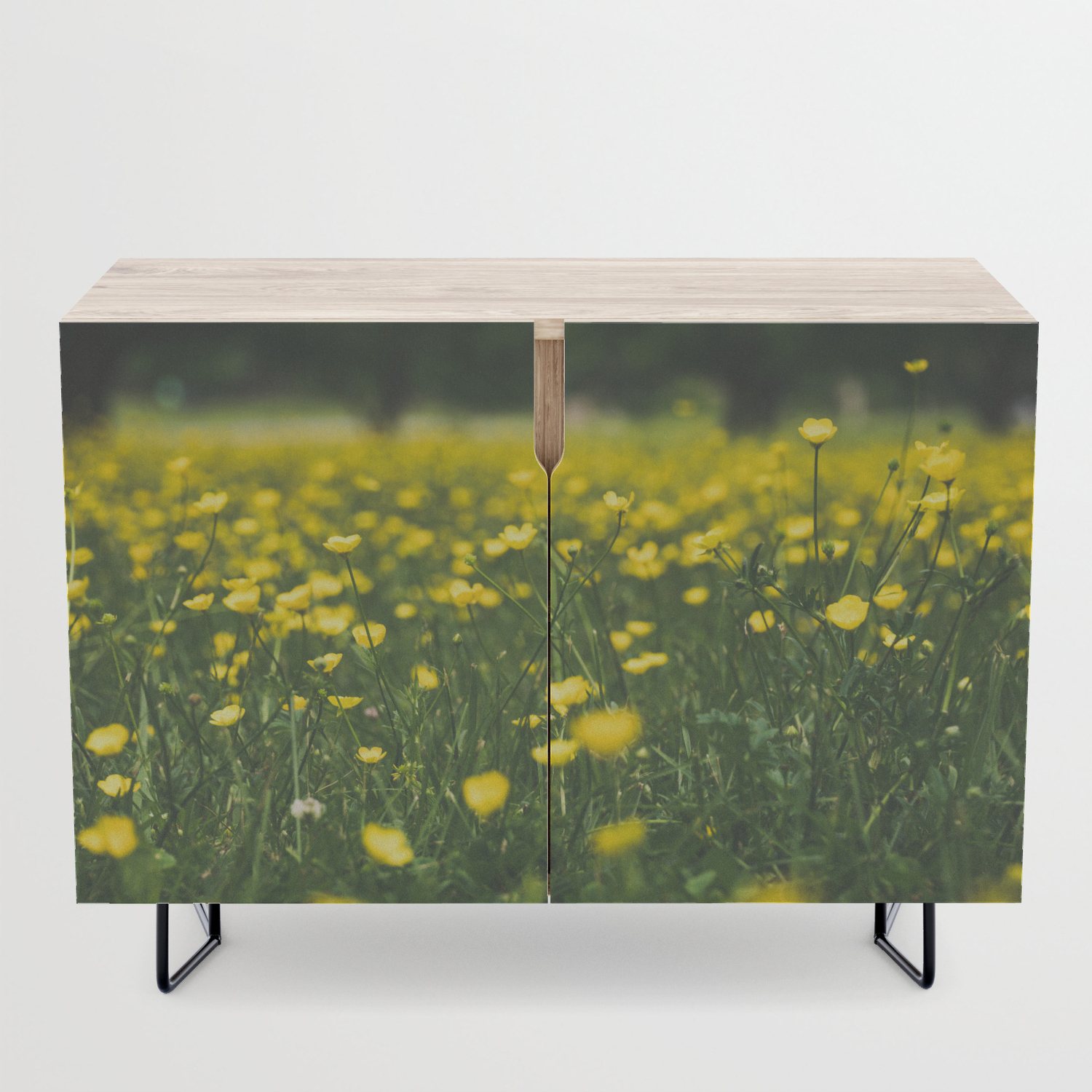 Build Me Up Buttercup Credenza With Regard To Yellow Flora Credenzas (View 4 of 20)