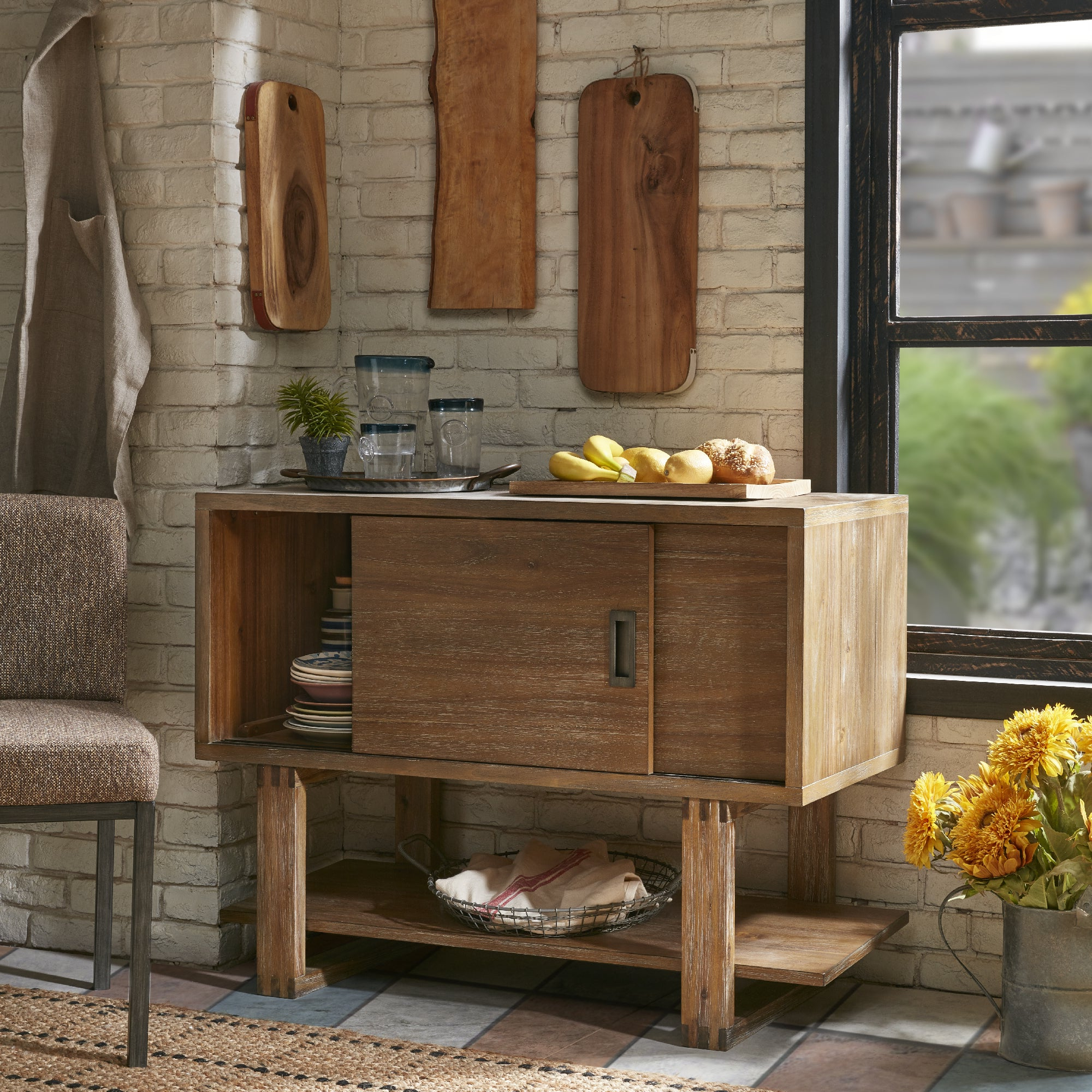 Buy Acacia Buffets, Sideboards & China Cabinets Online At Inside Rustic Walnut Buffets (View 13 of 20)