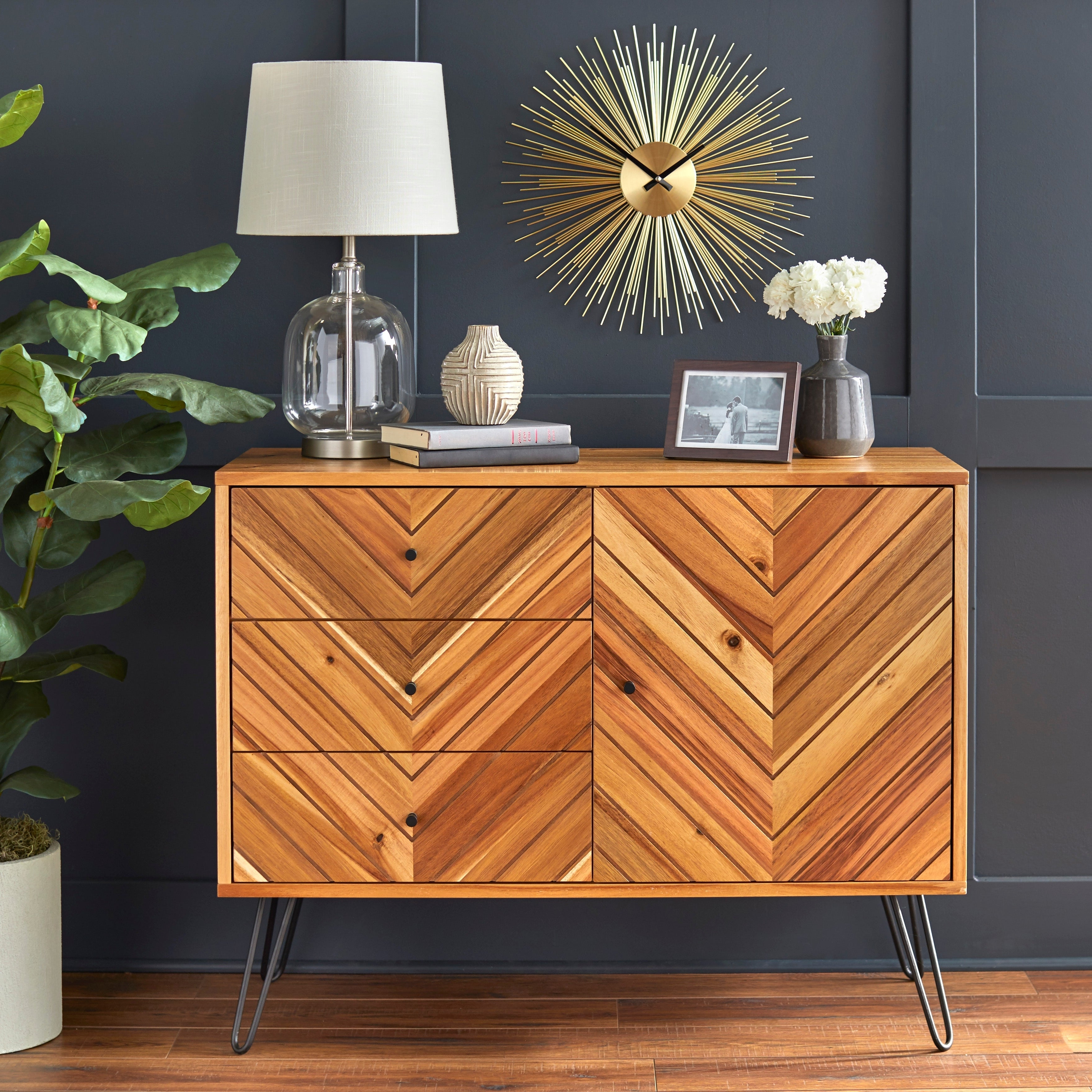 Buy Acacia Buffets, Sideboards & China Cabinets Online At Intended For Rustic Walnut Buffets (View 10 of 20)