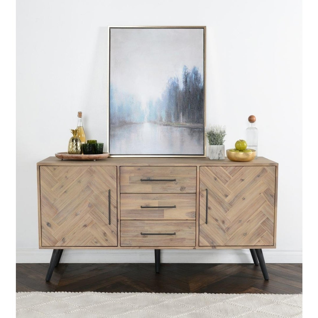 Buy Acacia Buffets, Sideboards & China Cabinets Online At Pertaining To Rustic Walnut Buffets (View 7 of 20)