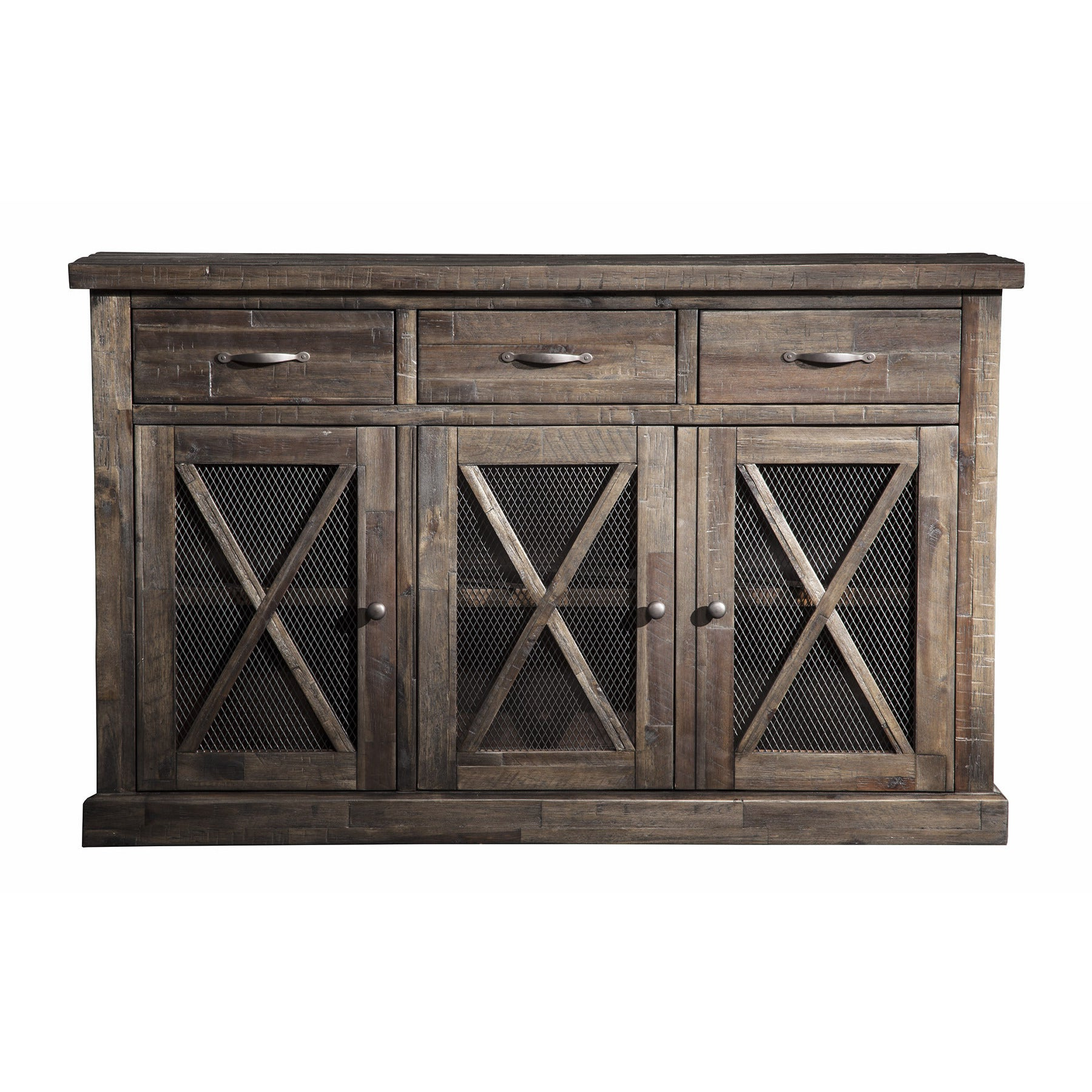 Buy Acacia Buffets, Sideboards & China Cabinets Online At Regarding Rustic Walnut Buffets (View 2 of 20)