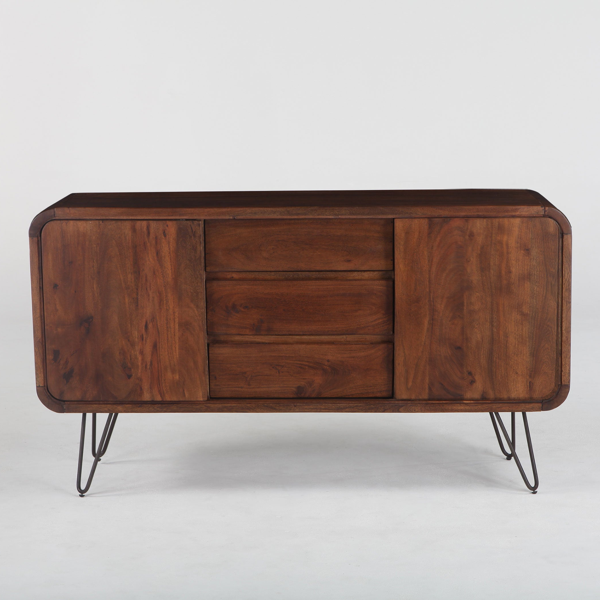 Buy Acacia Buffets, Sideboards & China Cabinets Online At With Regard To Rustic Walnut Buffets (View 3 of 20)