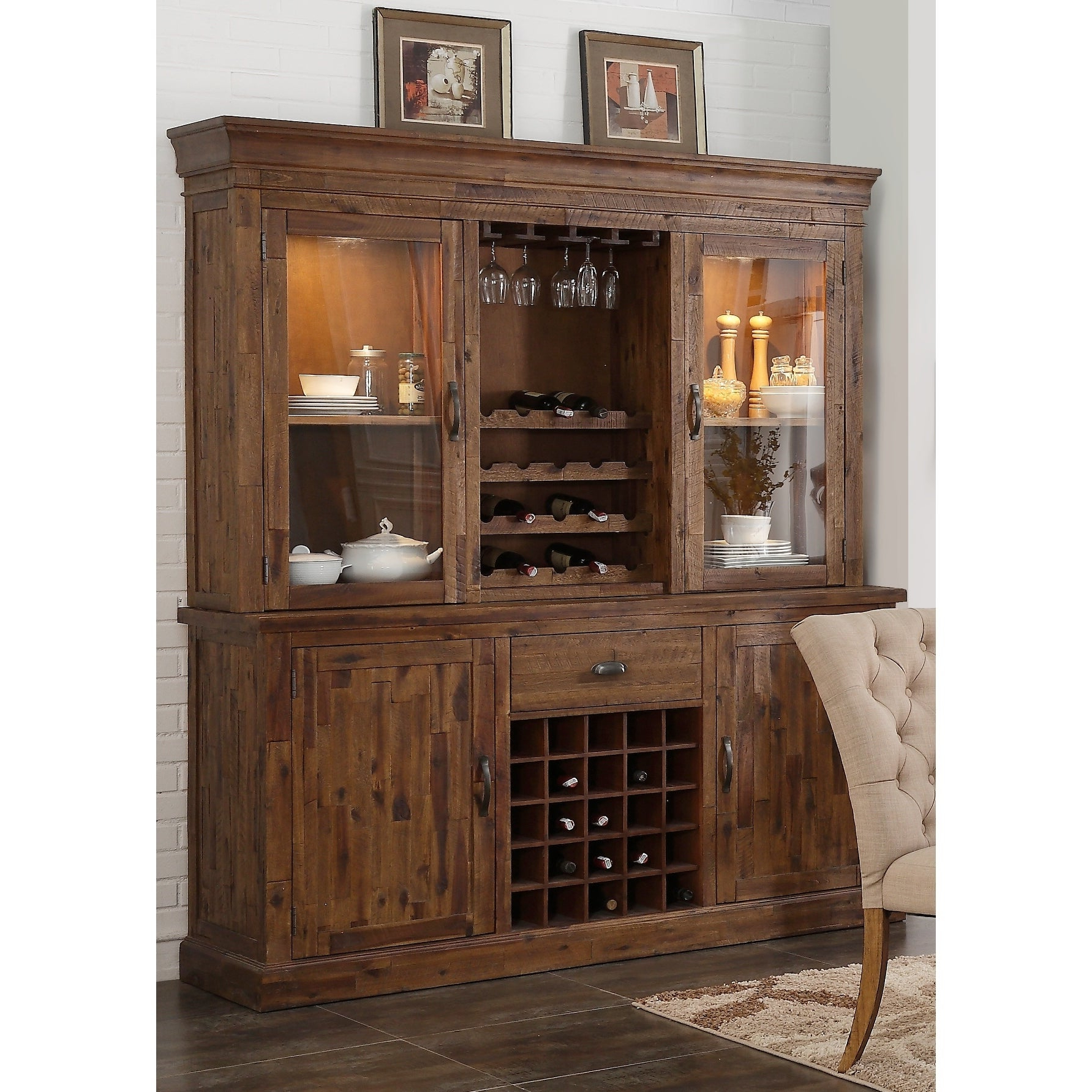 Buy Acacia Buffets, Sideboards & China Cabinets Online At Within Rustic Walnut Buffets (View 6 of 20)