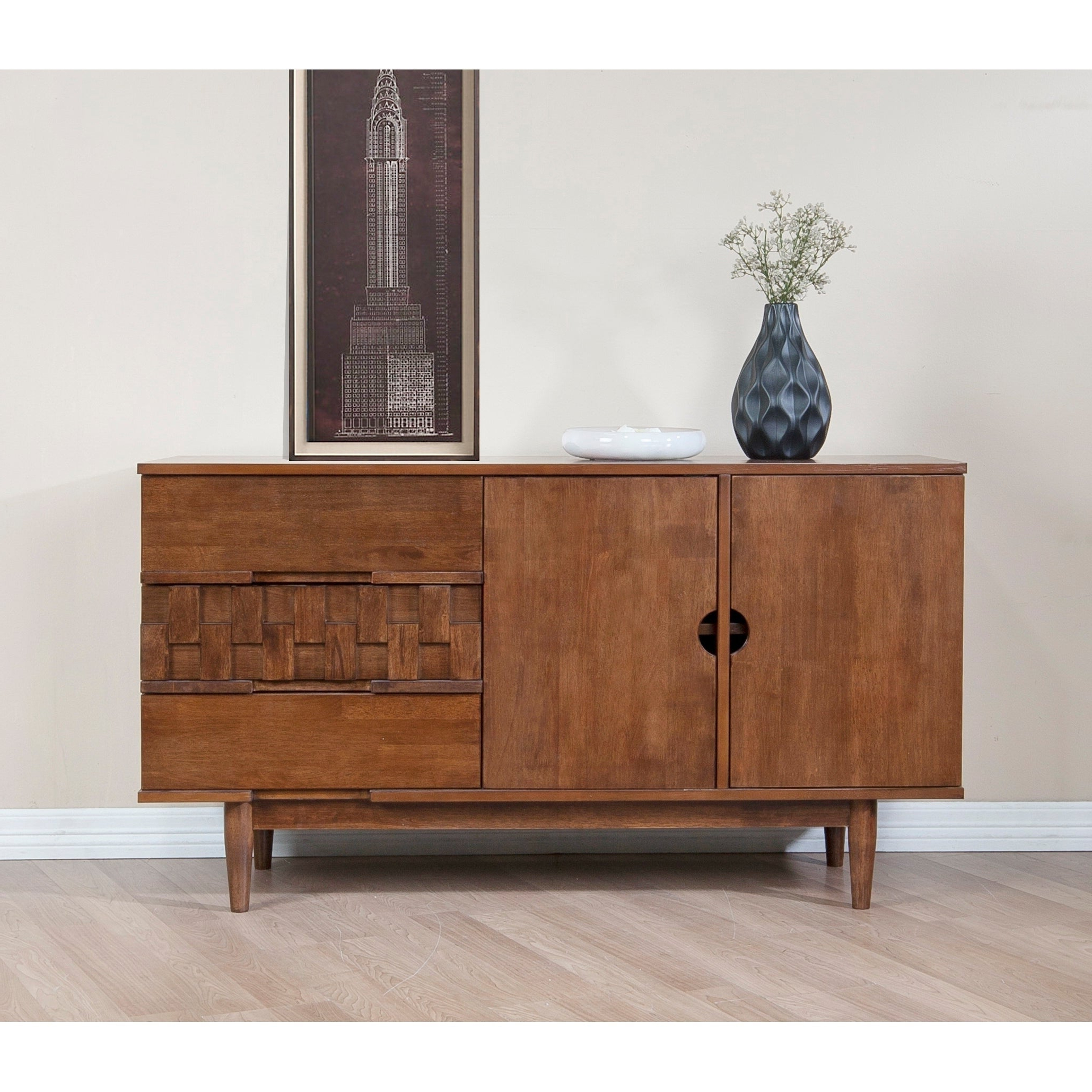 Buy Brown Buffets, Sideboards & China Cabinets Online At With Regard To Strick & Bolton Dallas Walnut Buffets (View 8 of 20)