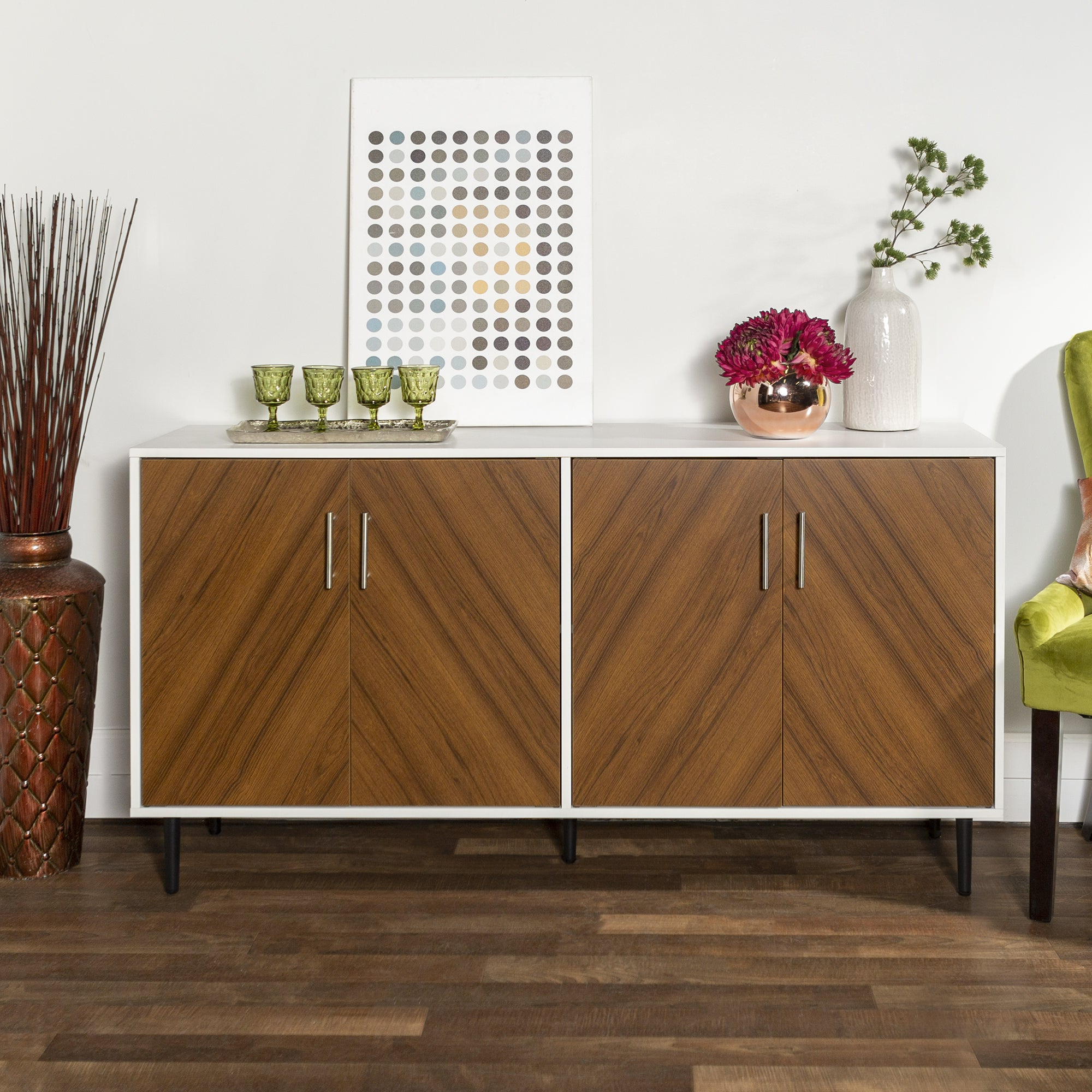 Buy Buffets, Sideboards & China Cabinets Online At Overstock Within Modern Red Buffets (View 4 of 20)