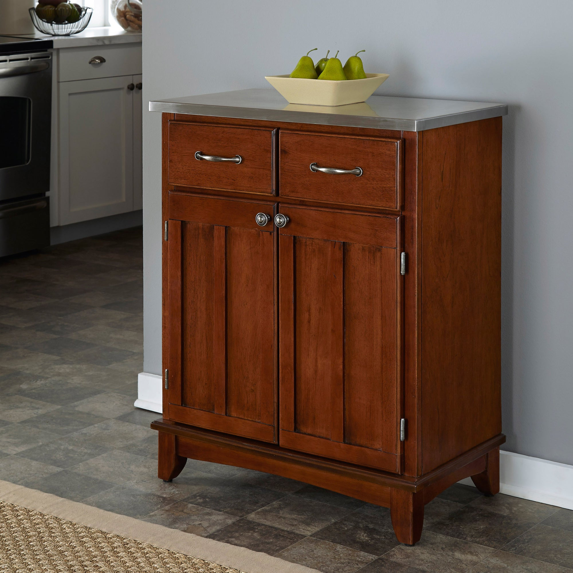 Buy Cherry Finish Buffets, Sideboards & China Cabinets In Buffets With Cherry Finish (View 5 of 20)