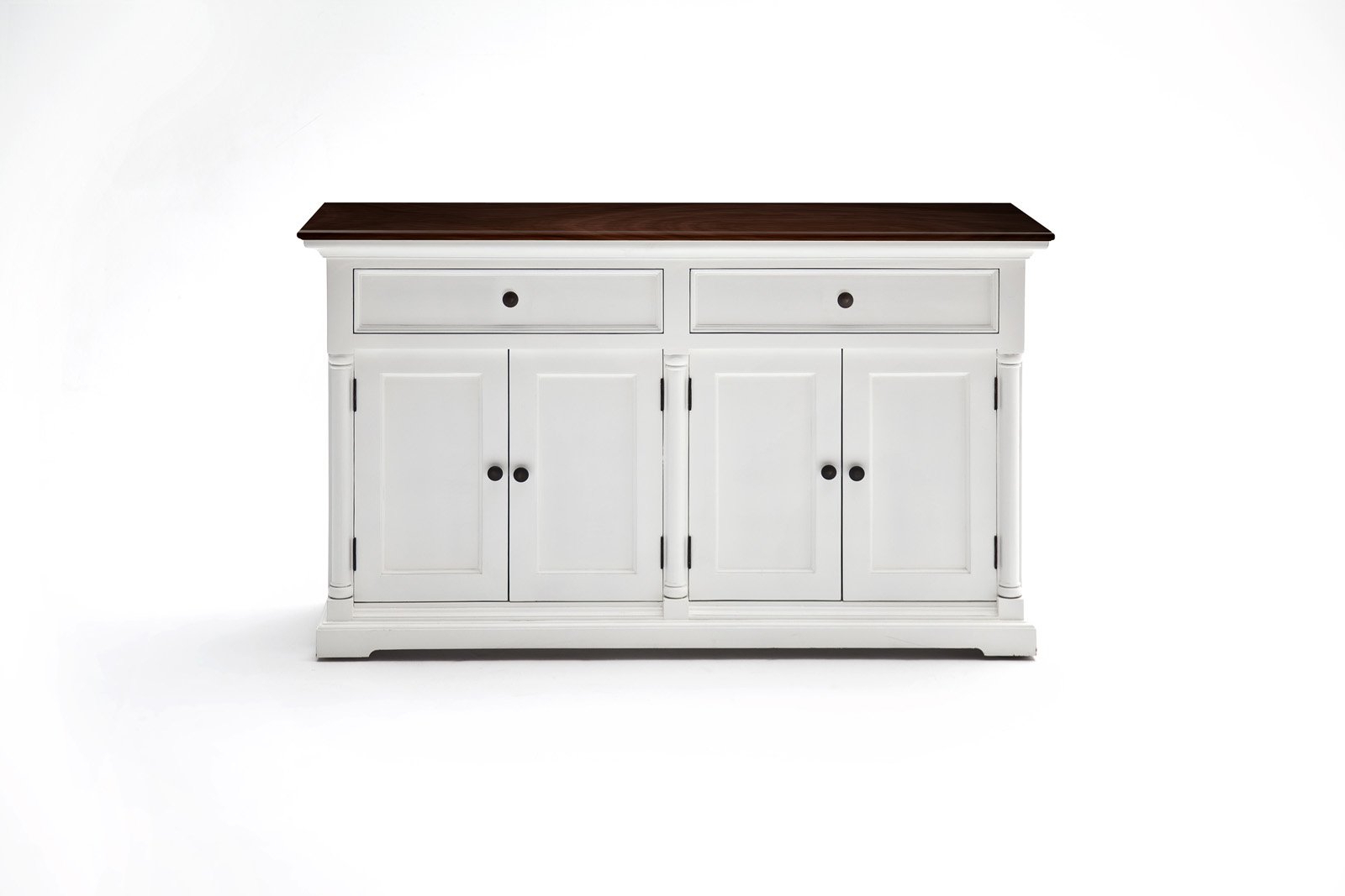 Buy Nova Solo B186Twd Provence Accent Buffet Basic White W Inside White Beadboard Buffets (View 2 of 20)