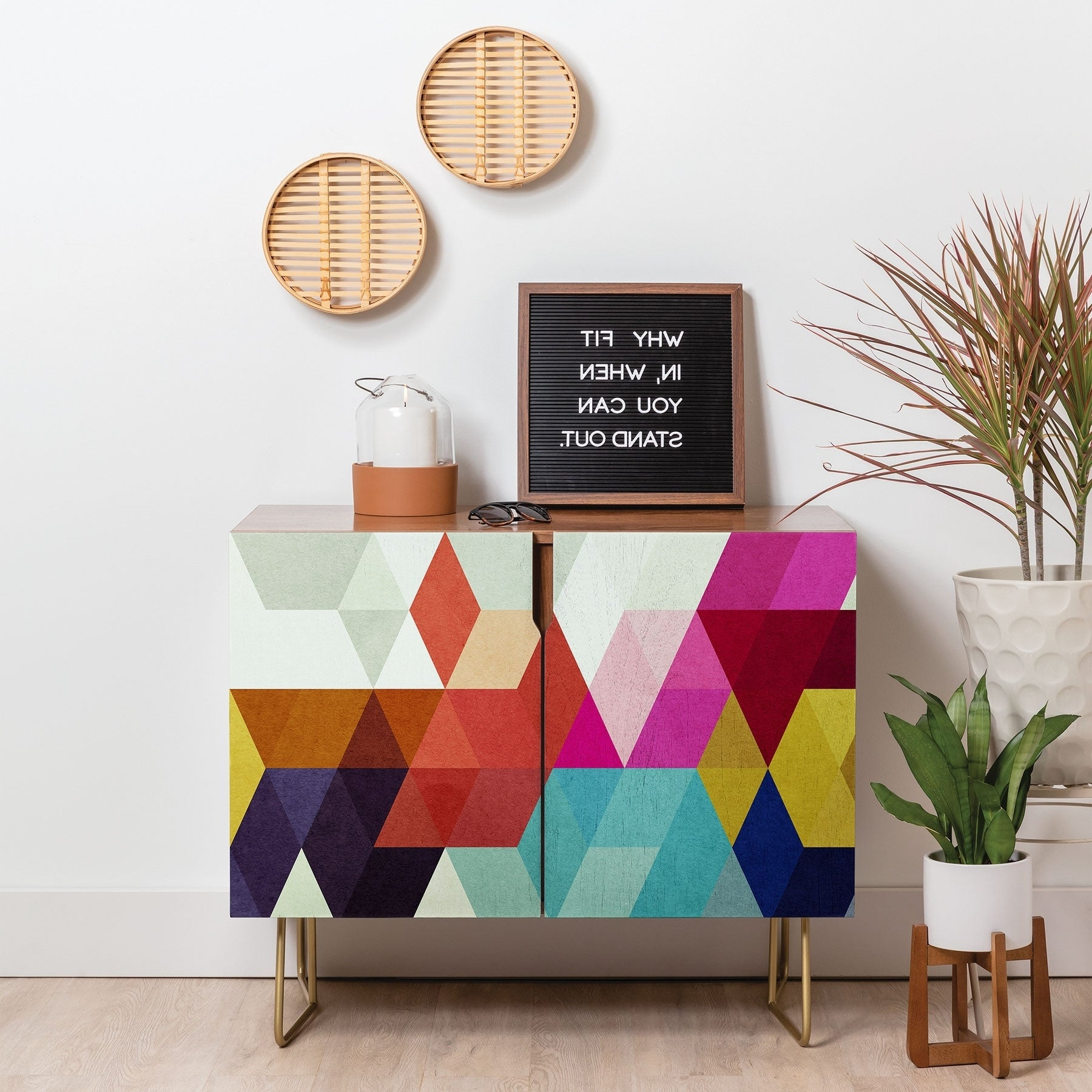 Buy Pink Buffets, Sideboards & China Cabinets Online At With Bright Angles Credenzas (View 5 of 20)