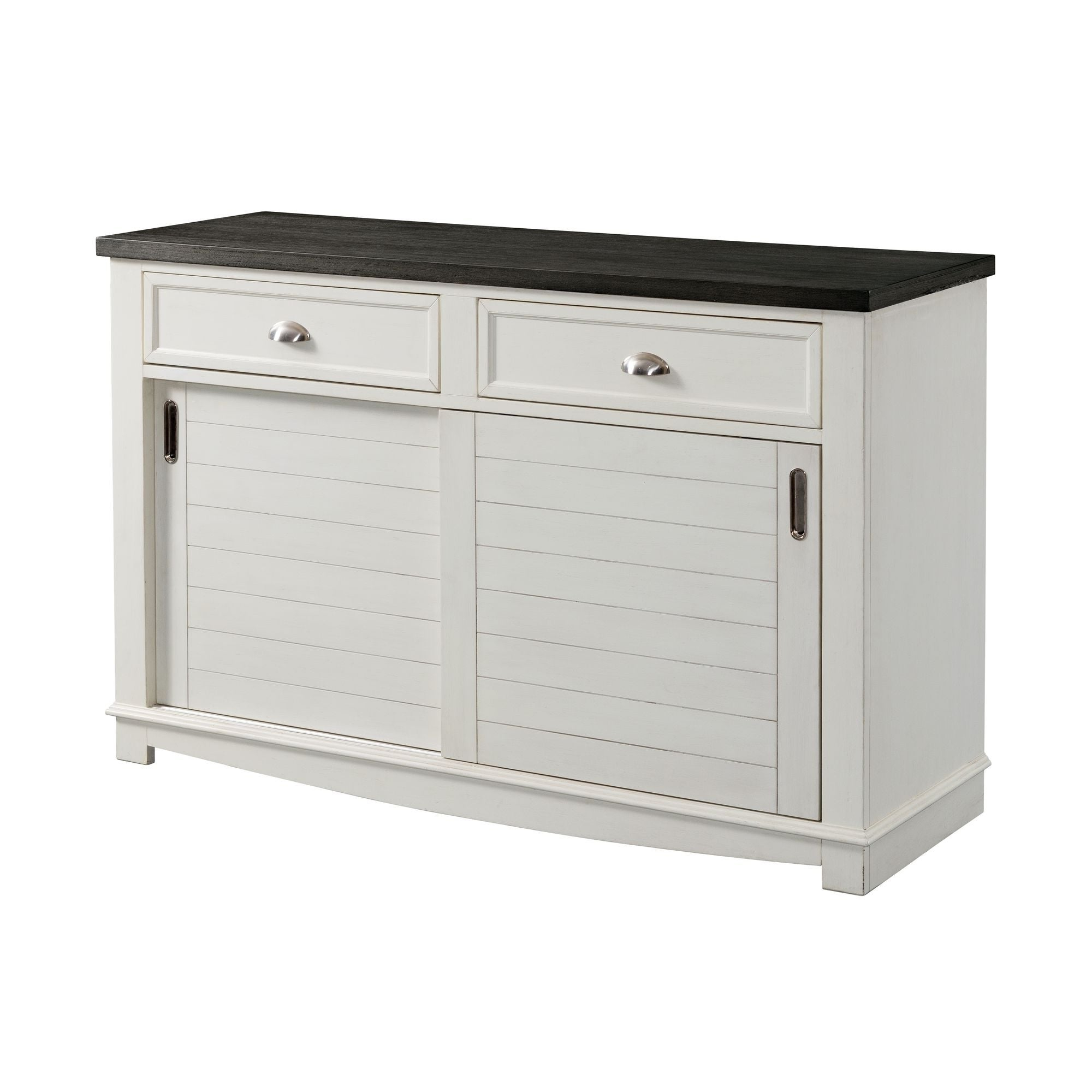 Buy Sliding Doors Buffets, Sideboards & China Cabinets With Regard To Saucedo Rustic White Buffets (View 12 of 20)