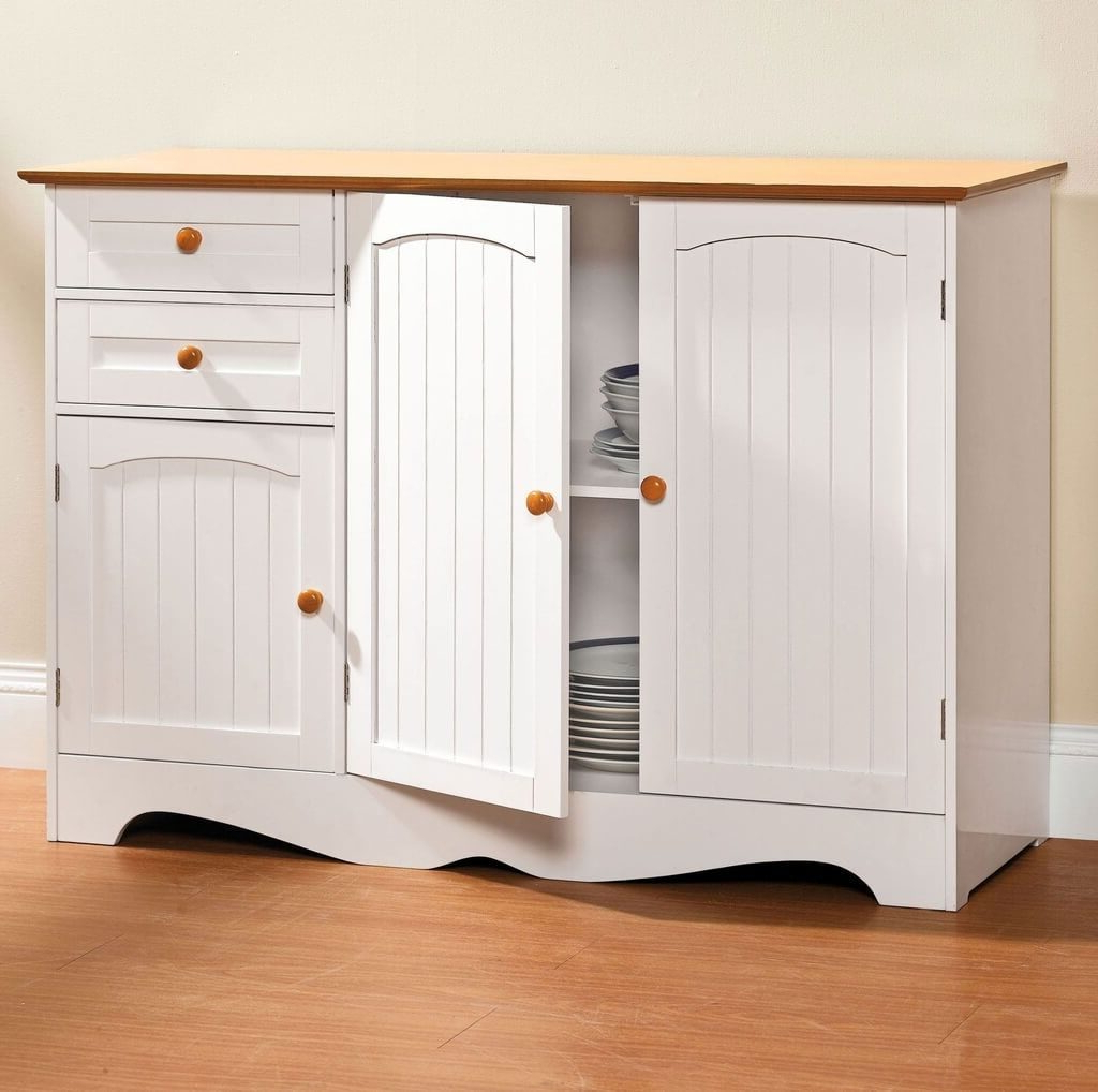 Cabinet Side Beadboard – Projecthamad In White Beadboard Buffets (View 3 of 20)