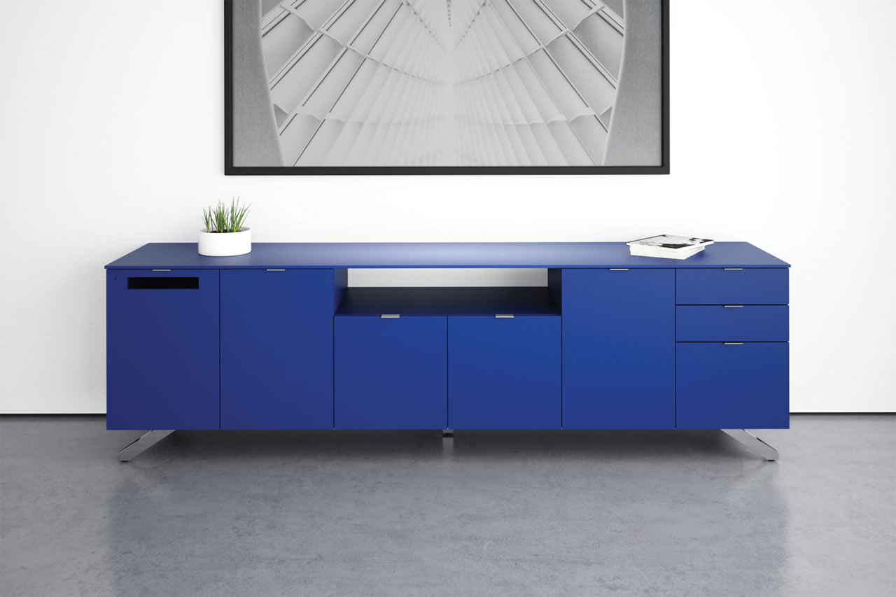 Cabinets & Credenzas | Prismatique Throughout Blue Stained Glass Credenzas (View 3 of 20)