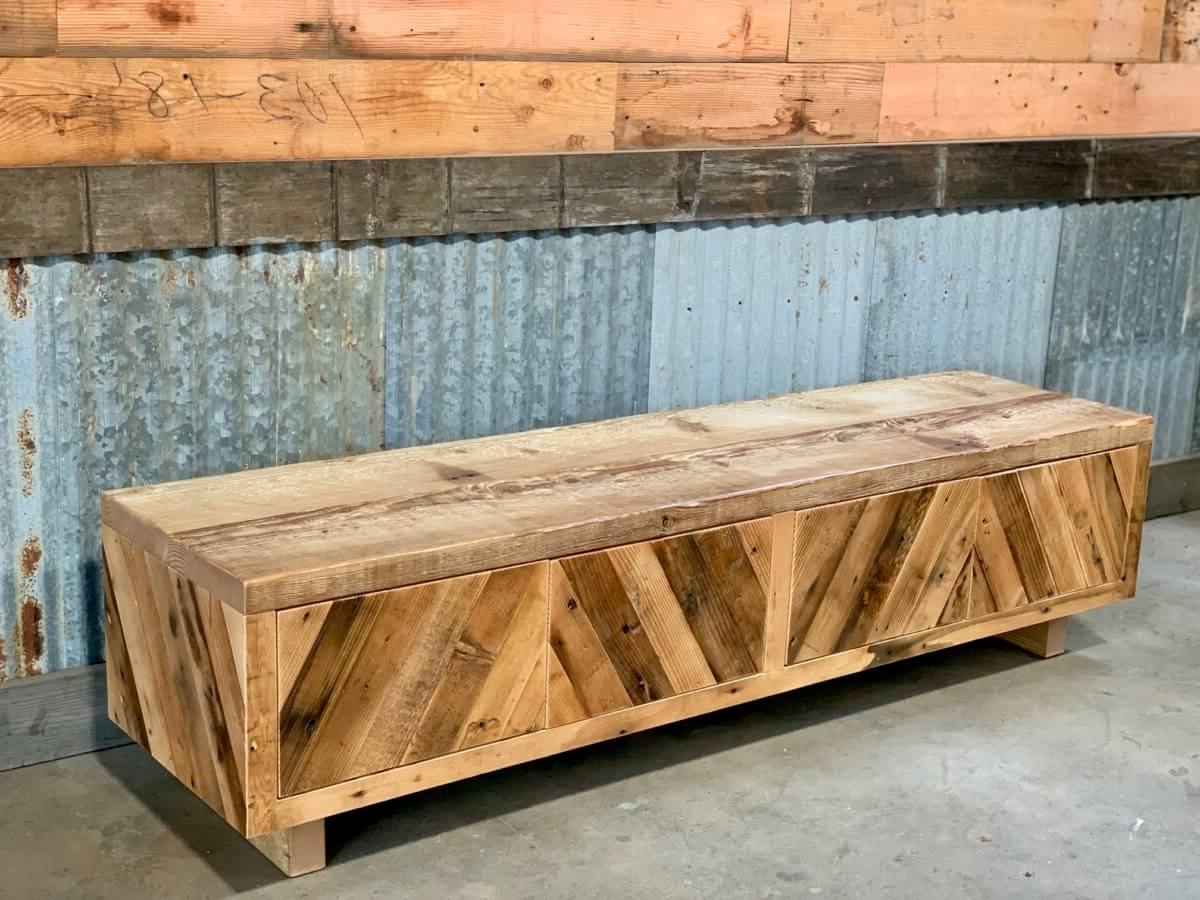 Cabinets & Shelves | Custom Wood Cabinets & Shelves Inside Wooden Deconstruction Credenzas (View 20 of 20)