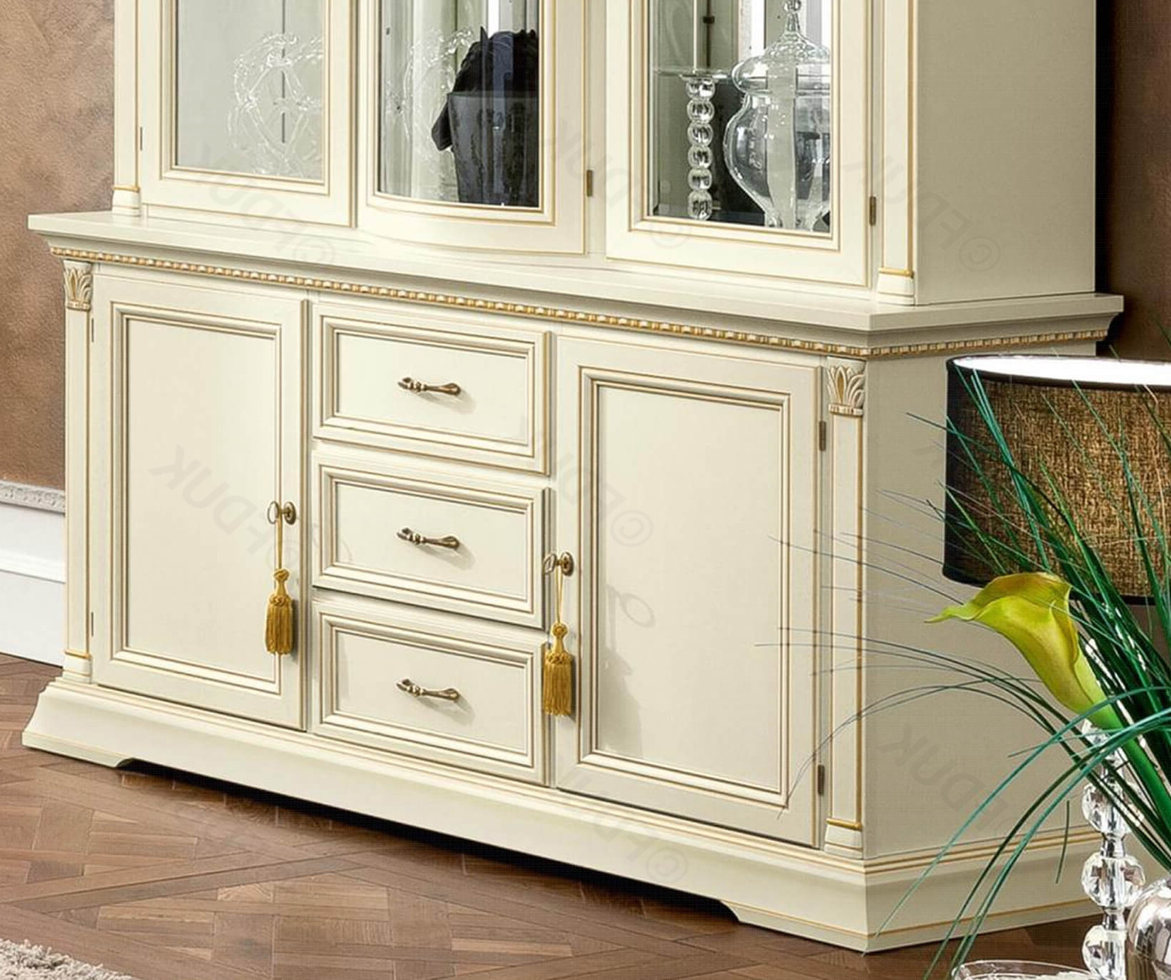 Camel Group Treviso White Ash Finish 2 Door 3 Drawer Buffet Regarding 2 Door 3 Drawer Buffets (View 6 of 20)