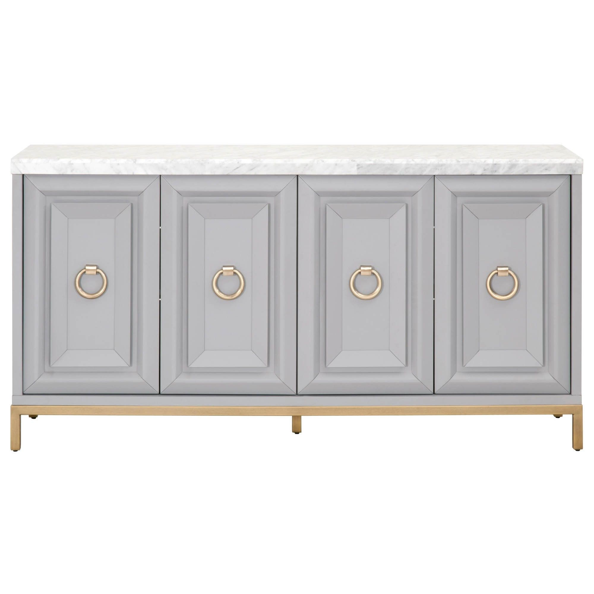 Candelabra Home Azure Carrera Media Sideboard In 2019 Throughout Carrera Contemporary Black Dining Buffets (View 1 of 20)