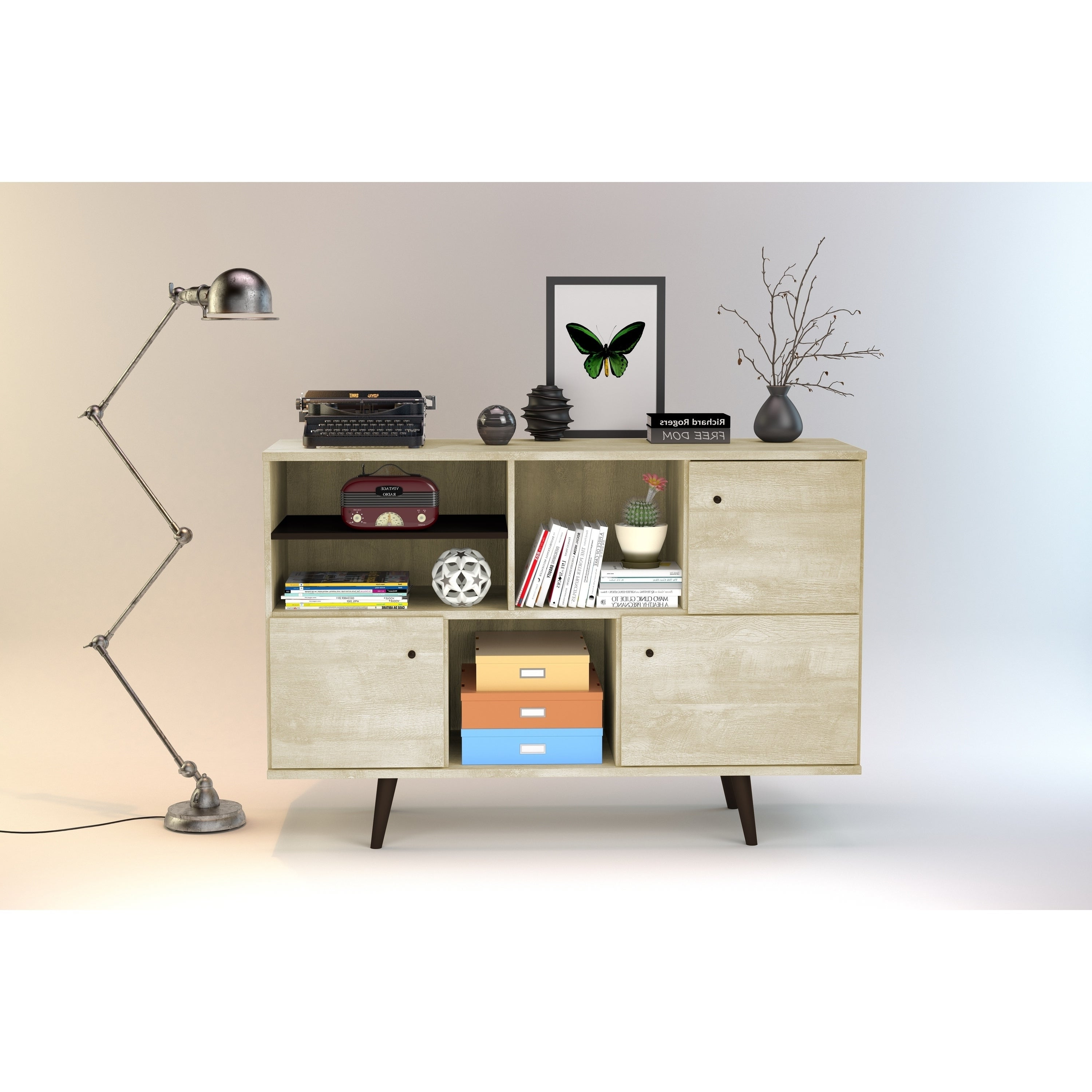 Featured Photo of Mid Century 3 Cabinet Buffets