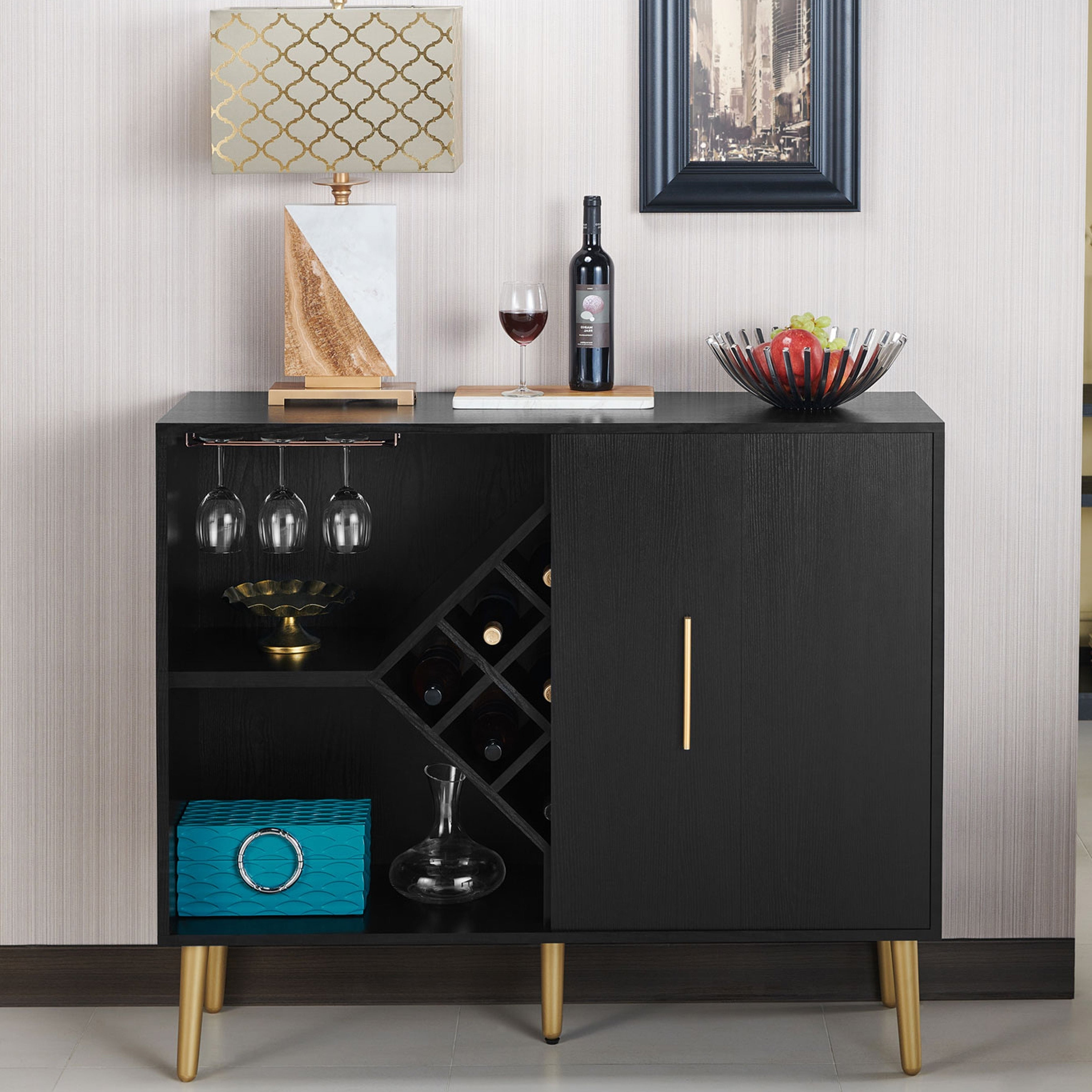 Featured Photo of Modern Black Storage Buffets