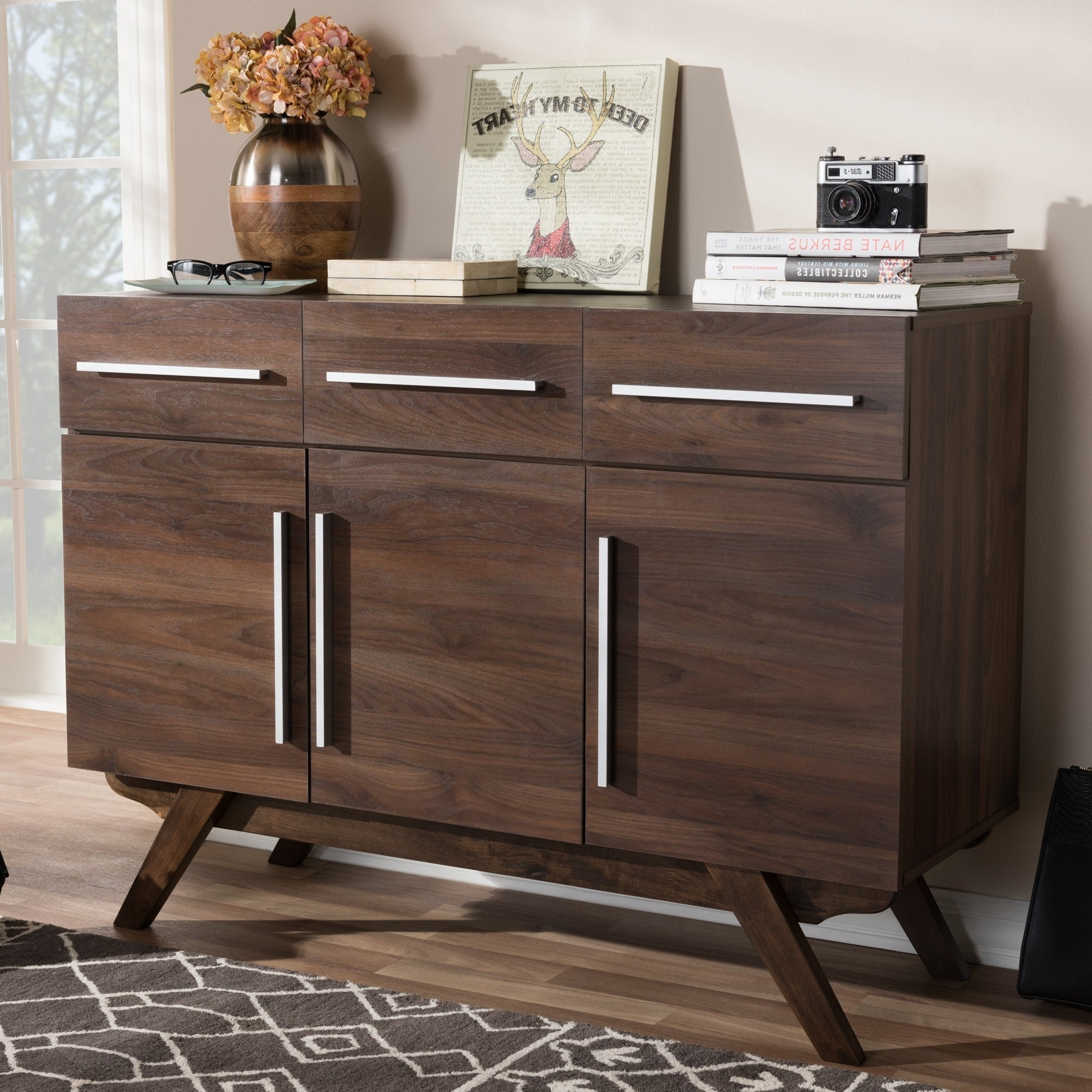 Featured Photo of Mid Century Brown Sideboards