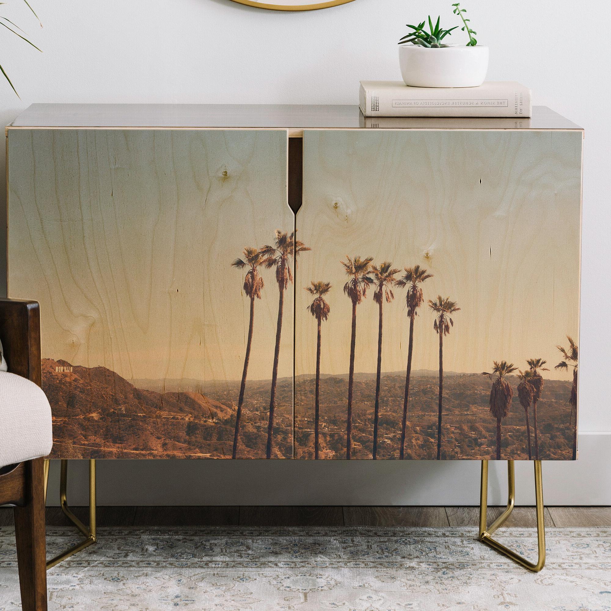Catherine Mcdonald Hollywood Hills Credenza Regarding Neon Bloom Credenzas (View 10 of 20)