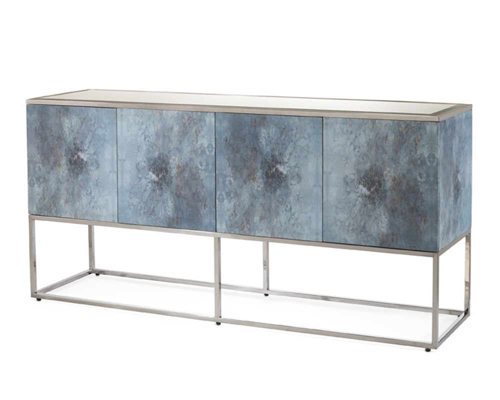 Clayton Four Door Cabinet – Cabinets – Furniture – Our Products Inside Botanical Harmony Credenzas (View 3 of 20)