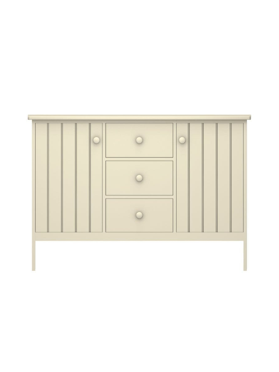Colony Buffet With 3 Drawers | Cottage Home® In 3 Drawer Storage Buffets (View 11 of 20)