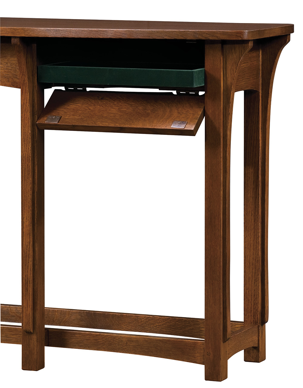 Console Table, Mission Collection – Stickley Furniture With Regard To Copper Leaf Wood Credenzas (View 5 of 20)