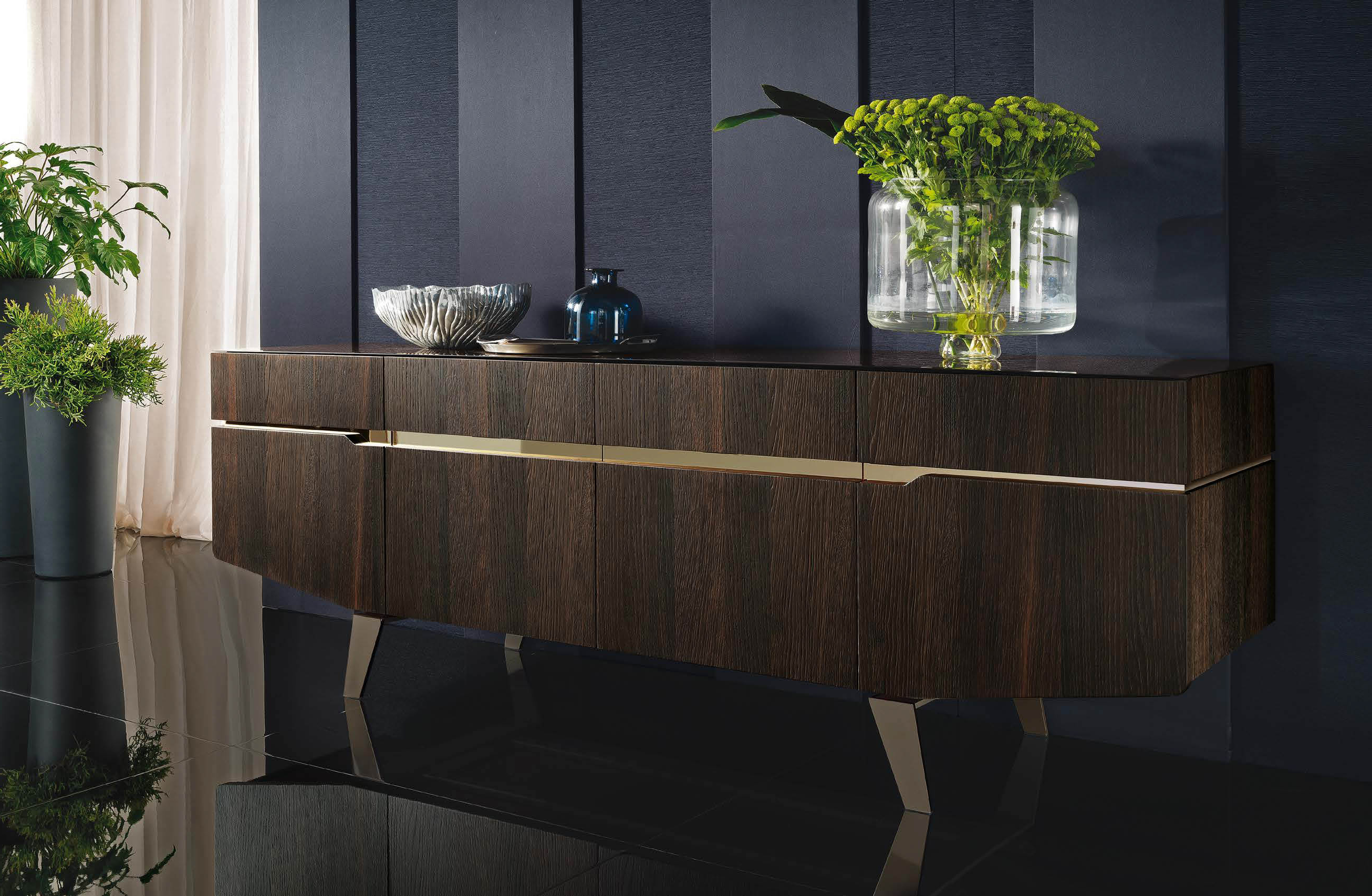 Contemporary Buffets & Mirrors – Milano Italian Furniture Intended For Contemporary Buffets (View 5 of 20)
