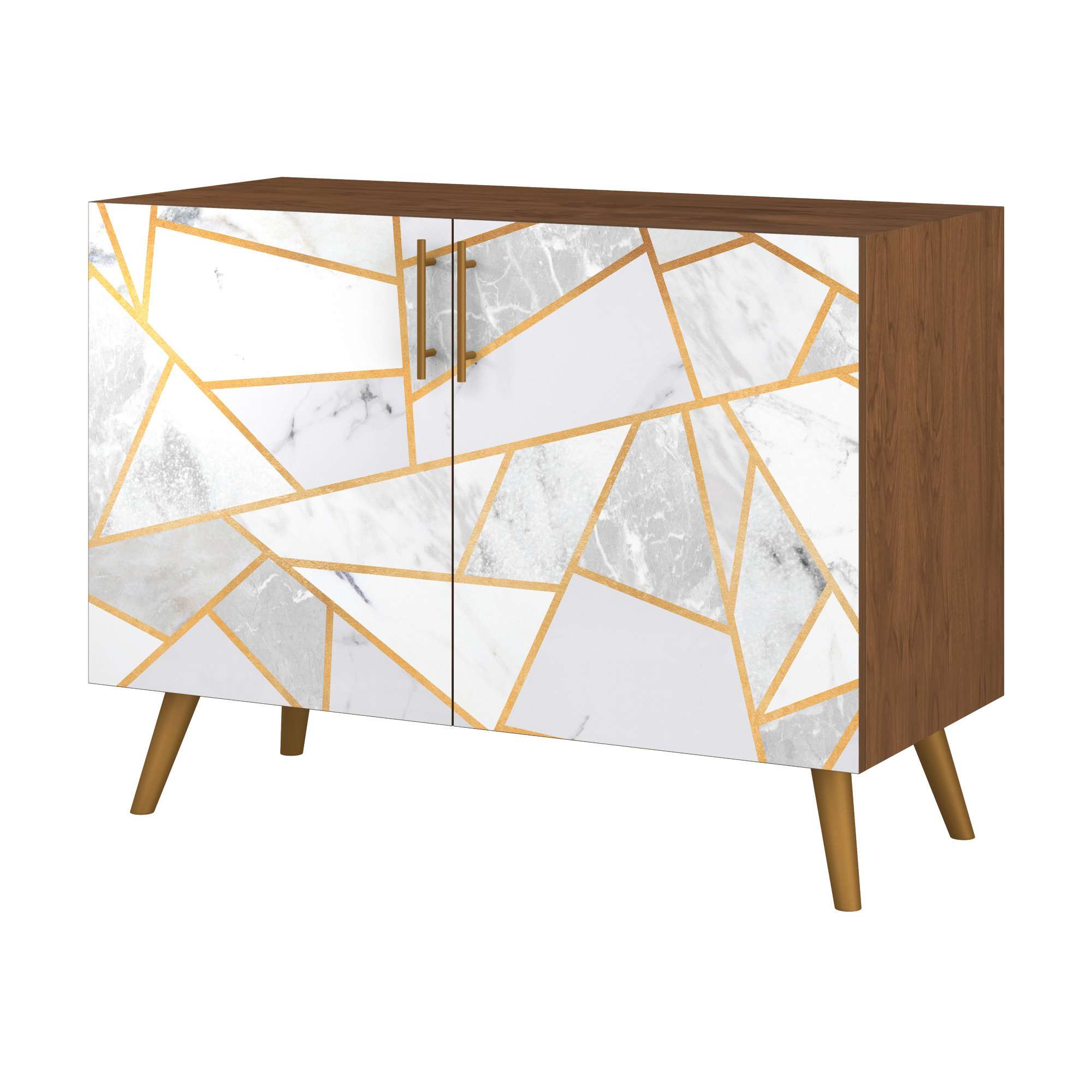Customize Credenzas   Snugsquare Within Bright Angles Credenzas (View 9 of 20)