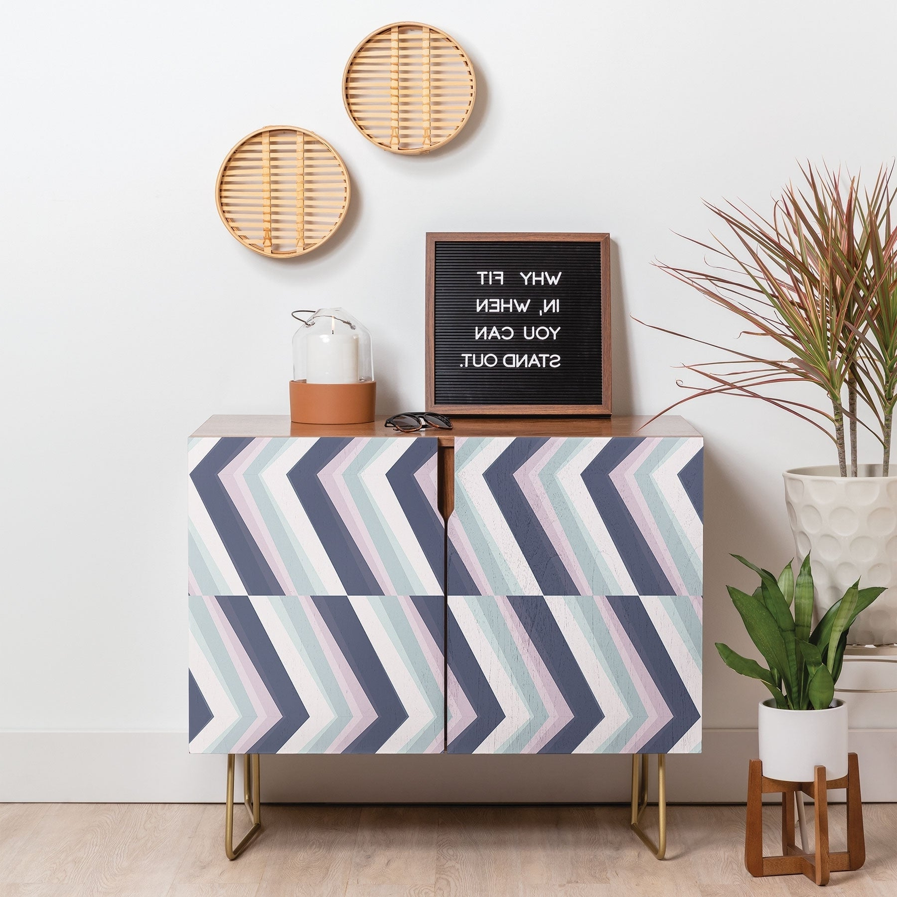 Featured Photo of Beach Stripes Credenzas