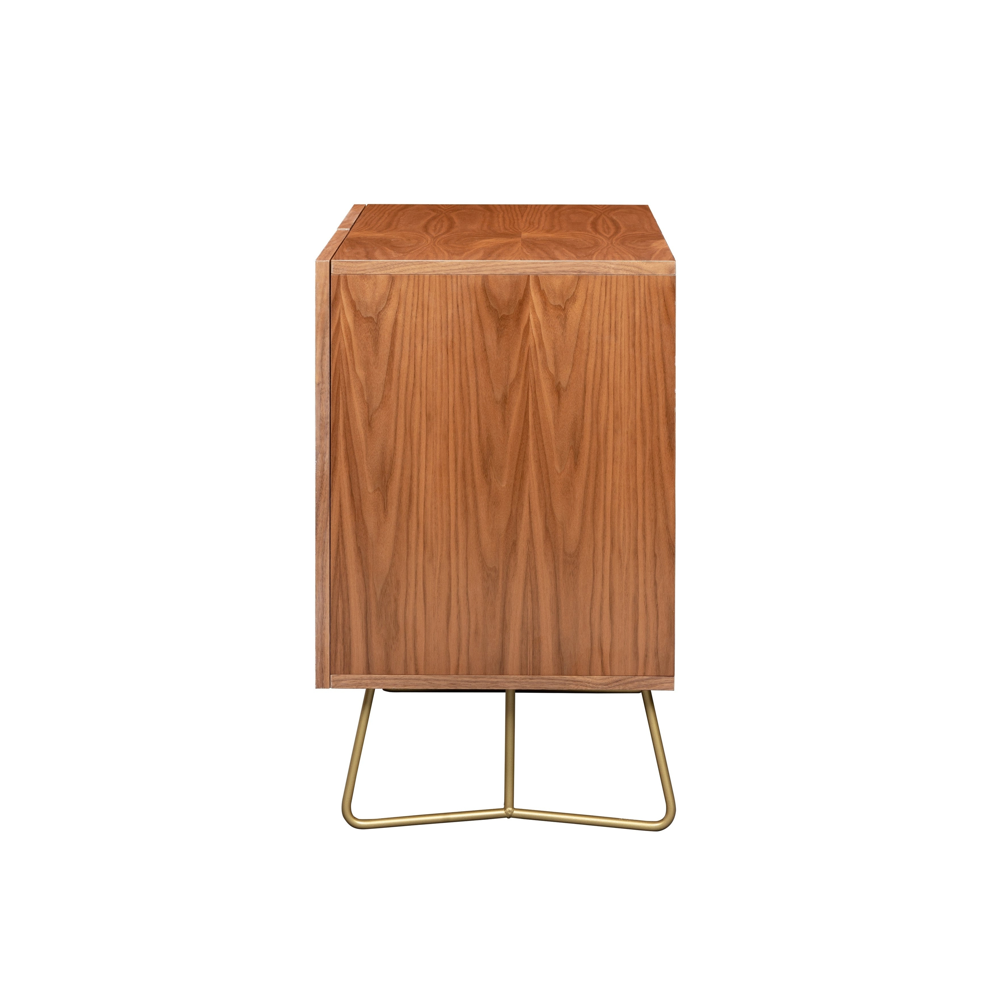 Deny Designs Colorful Leaves Credenza (Birch Or Walnut, 2 Leg Options) Within Colorful Leaves Credenzas (View 12 of 20)