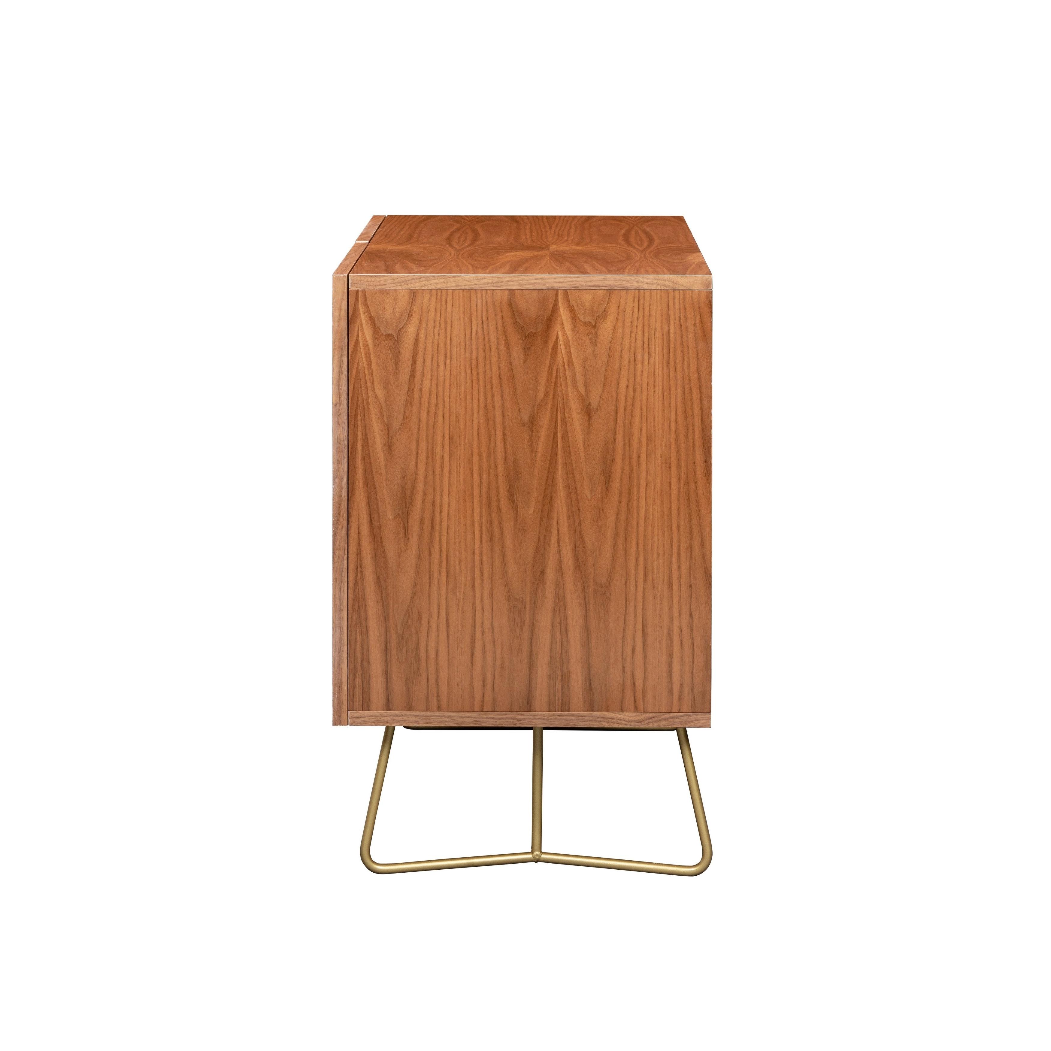 Deny Designs Emerald Cubes Credenza (Birch Or Walnut, 2 Leg Options) For Emerald Cubes Credenzas (View 2 of 20)