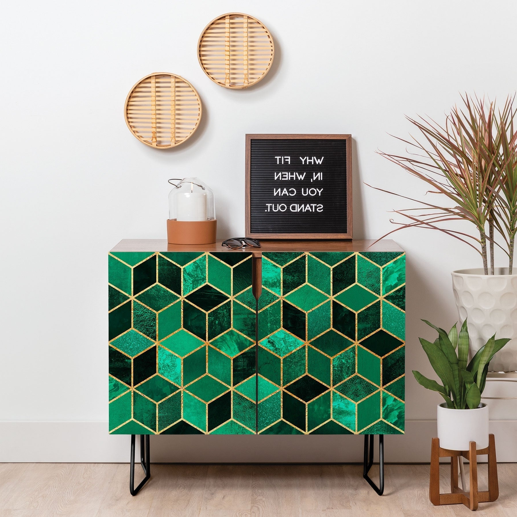 Featured Photo of Emerald Cubes Credenzas