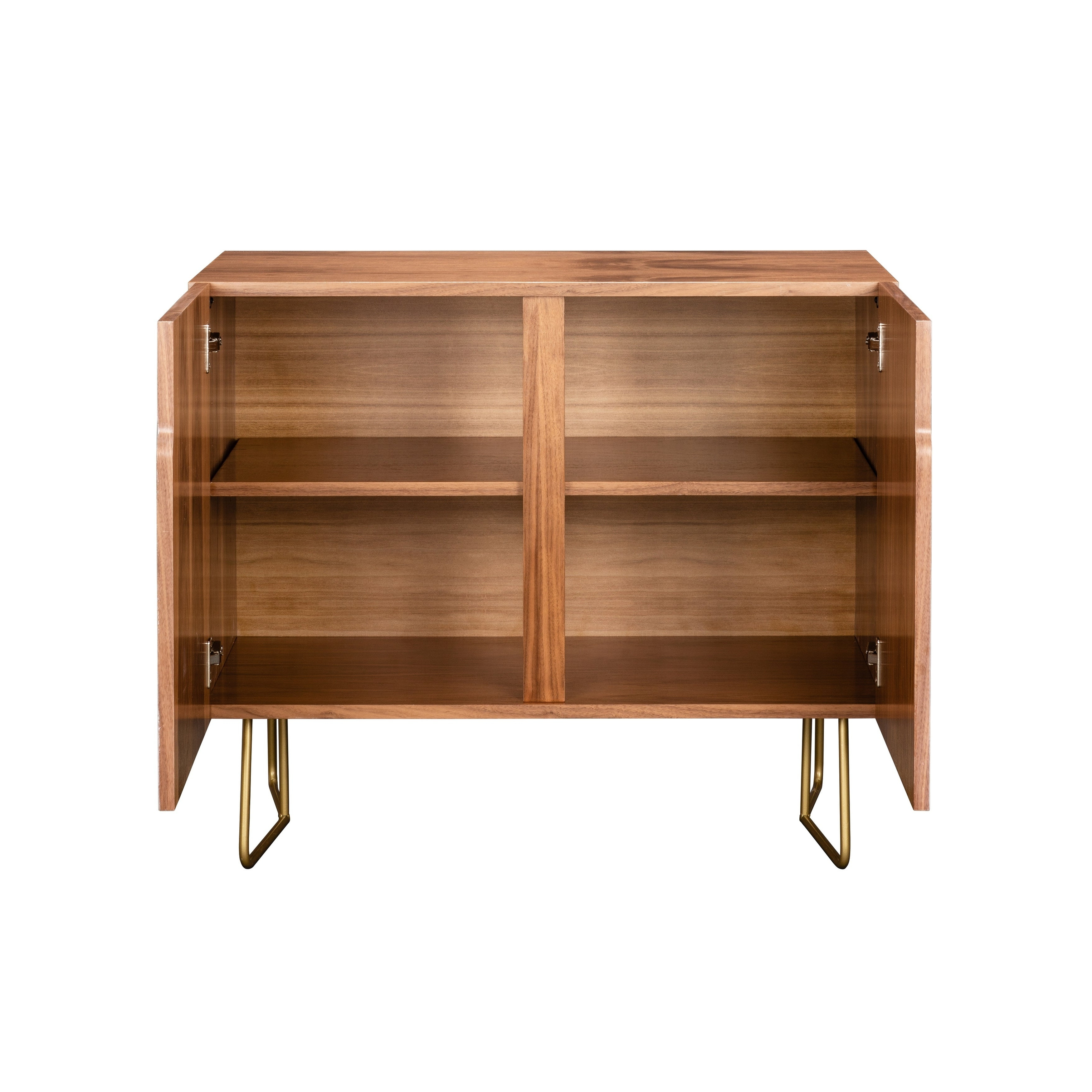 Deny Designs Multi Colored Geometric Shapes Credenza (Birch Or Walnut, 3  Leg Options) Pertaining To Multi Colored Geometric Shapes Credenzas (View 8 of 20)