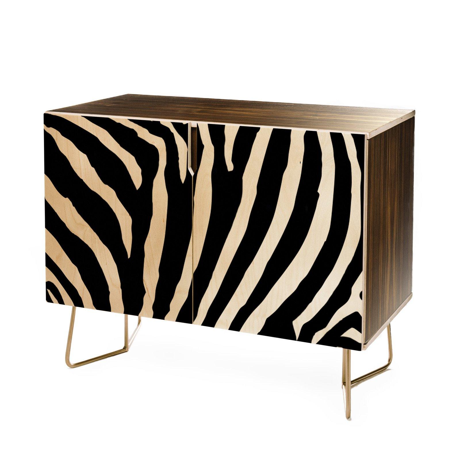 Deny Designs Natalie Baca Zebra Stripes Credenza | Products In Beach Stripes Credenzas (View 15 of 20)