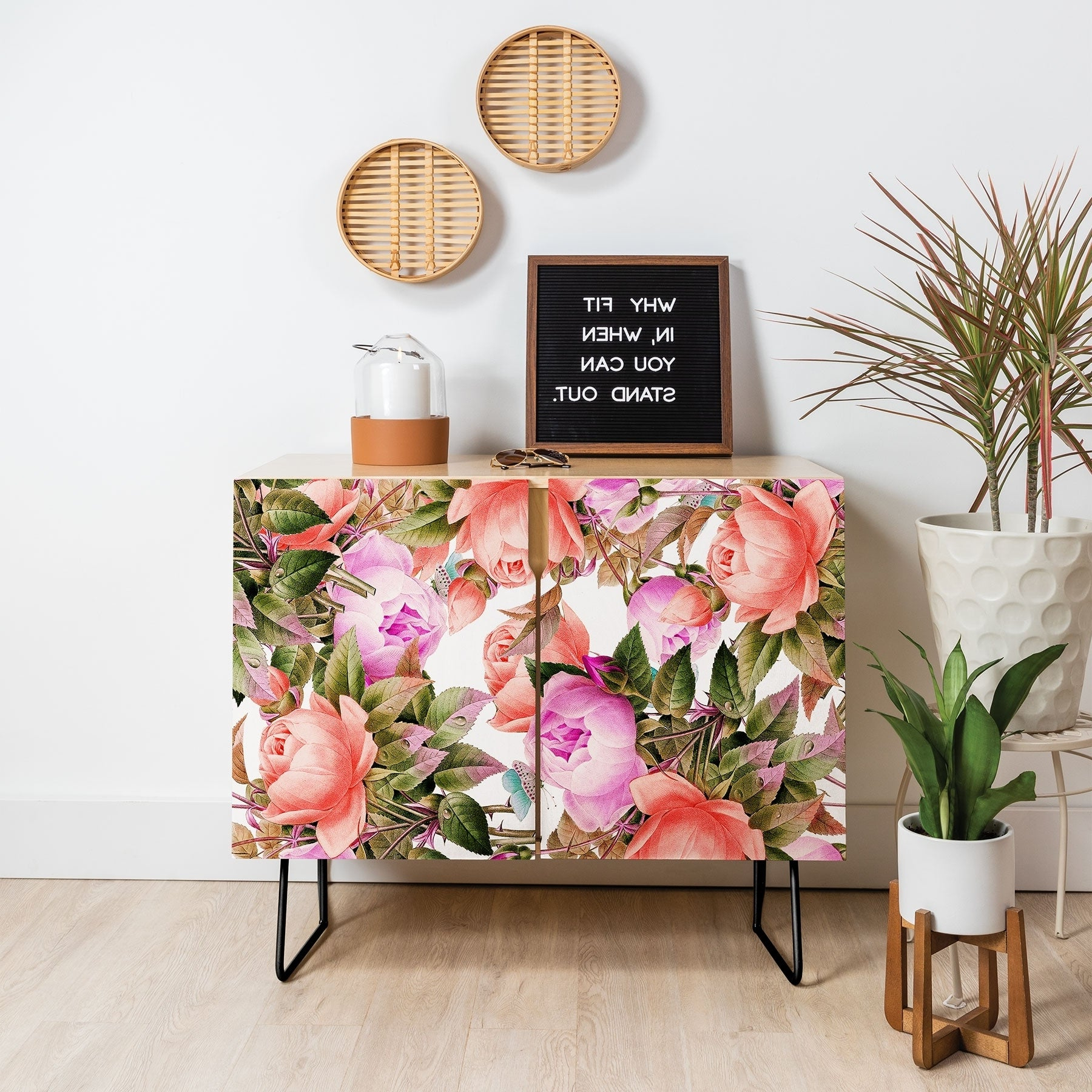 Featured Photo of Yellow Flora Credenzas