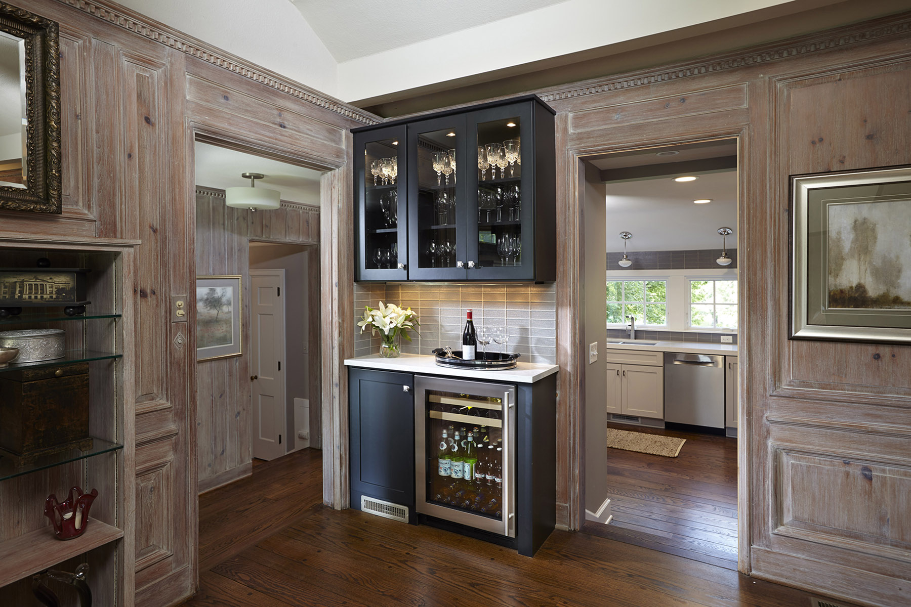 Designing A Transitional Bar Space For Entertaining Throughout Contemporary Wine Bar Buffets (View 13 of 20)