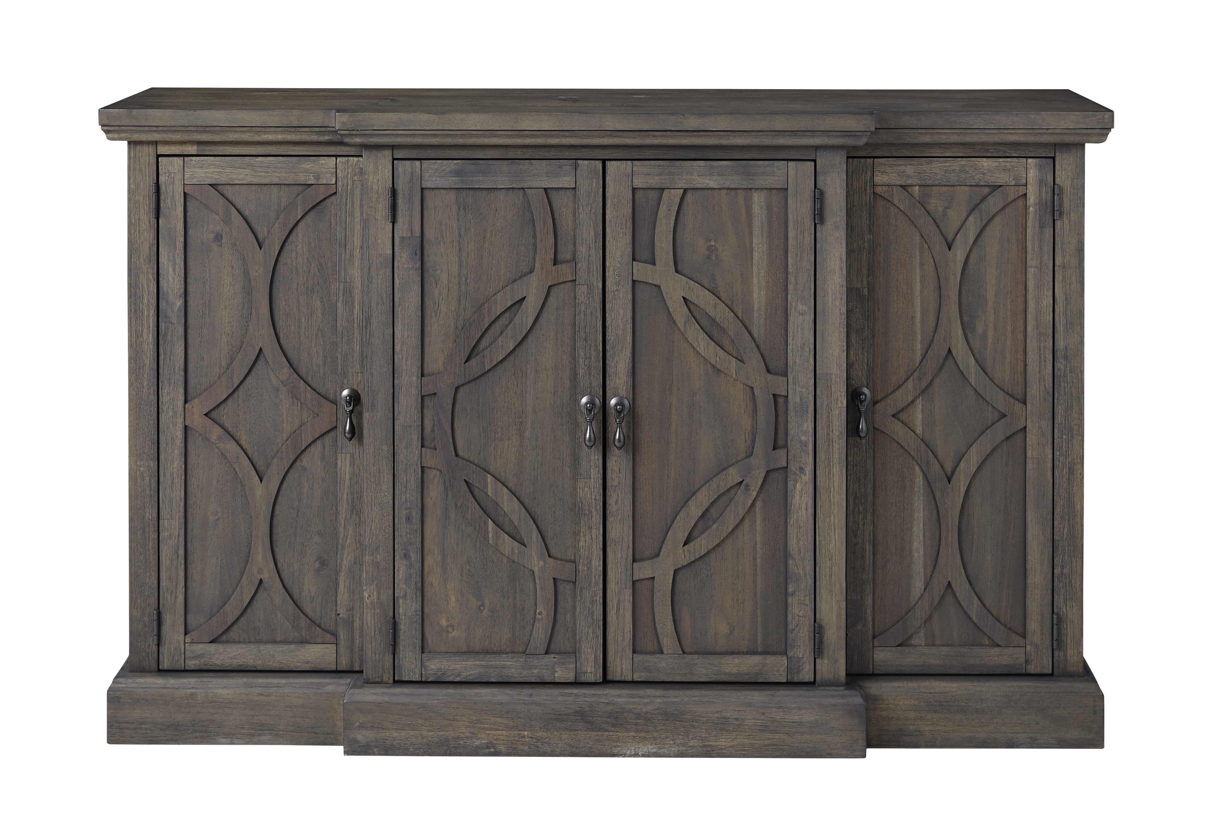 Dining Buffet Server | Wayfair Inside Contemporary Style Wooden Buffets With Two Side Door Storage Cabinets (View 7 of 20)