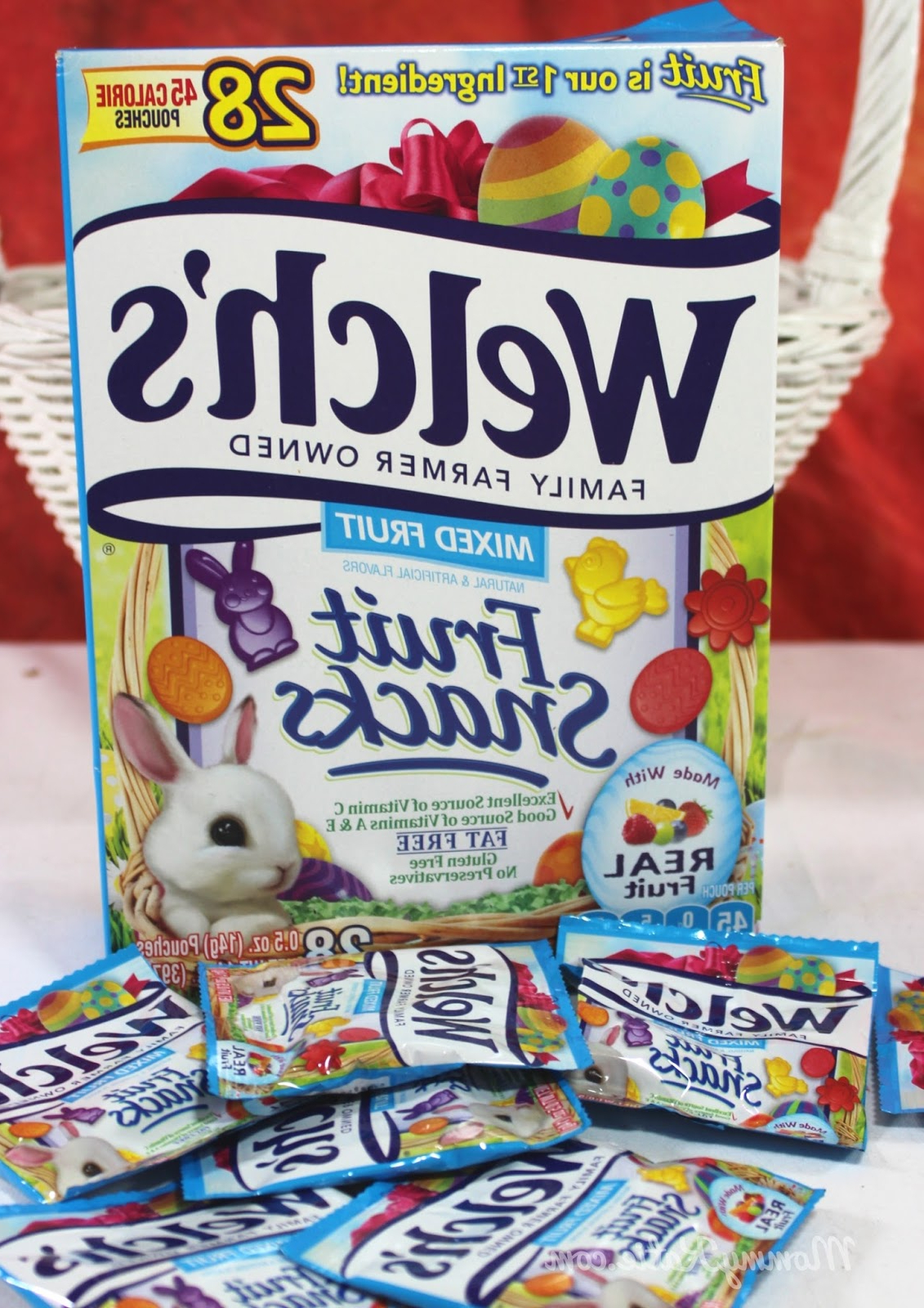 Easter Treats With Welch's Fruit Snacks | Mommy Katie Within Madison Park Mirai White Buffets (View 15 of 20)