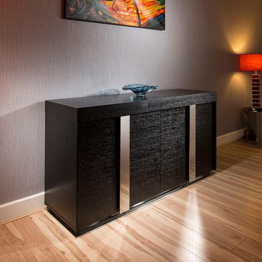Elegant Black Sideboard Buffet — Furniture Ideas With Regard To Contemporary Black Buffets (View 7 of 20)